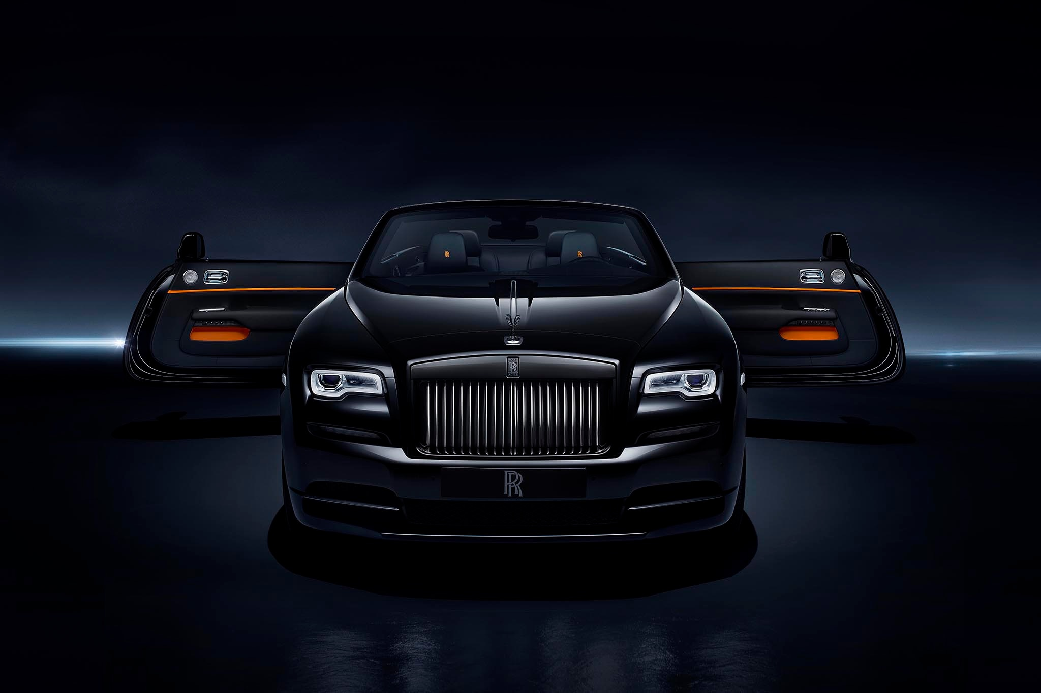 Rolls-Royce Dawn gets Black Badge