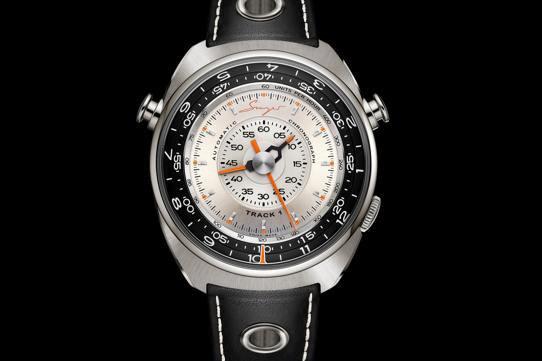 Singer Track 1 Chronograph Front 2