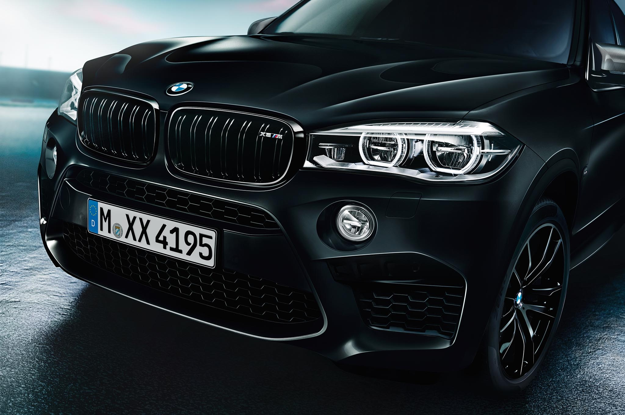 bmw introduces black fire edition x5 and x6 m