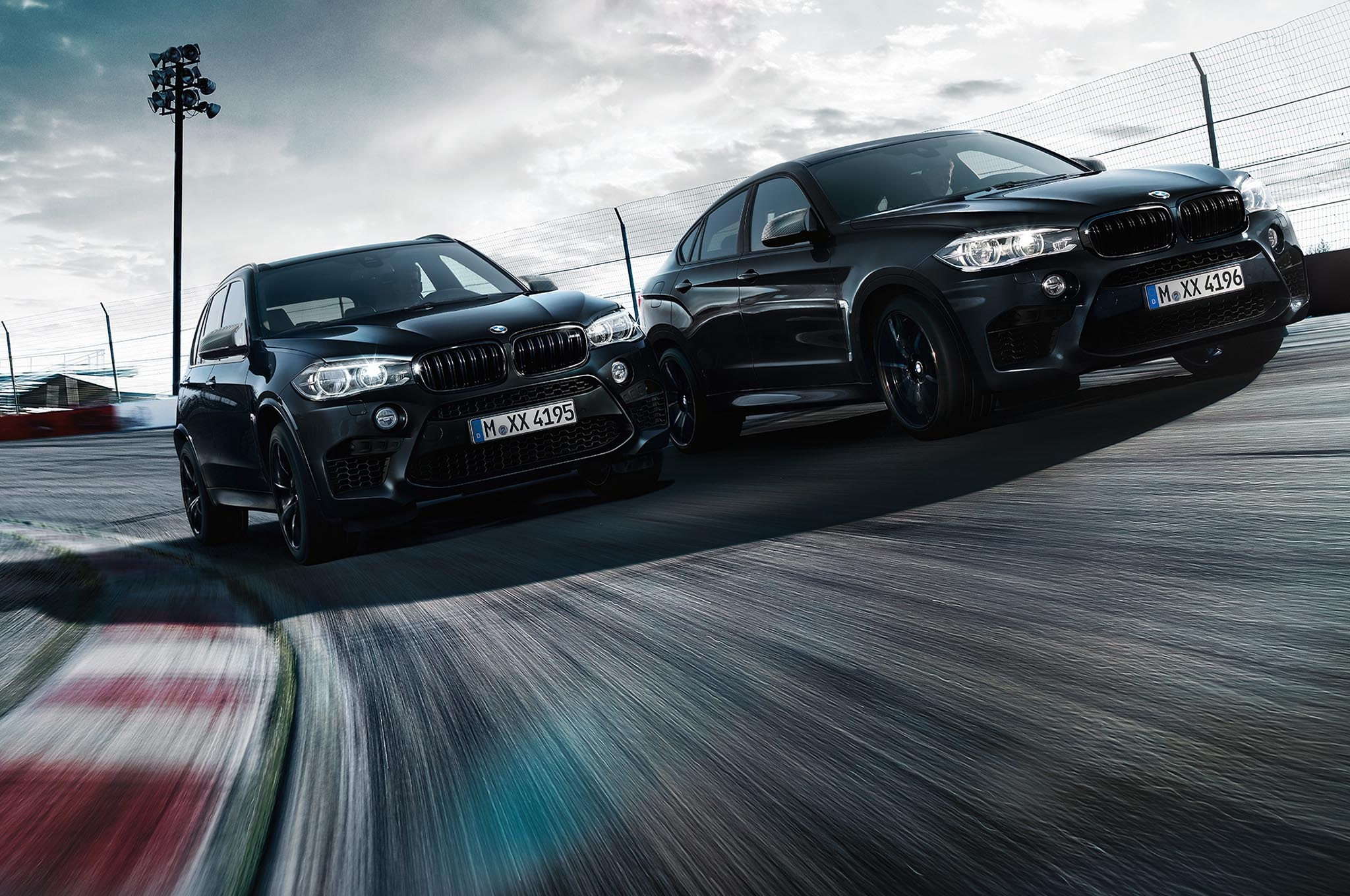 The Black Fire Edition Of The BMW X5 M And BMW X6 M Track