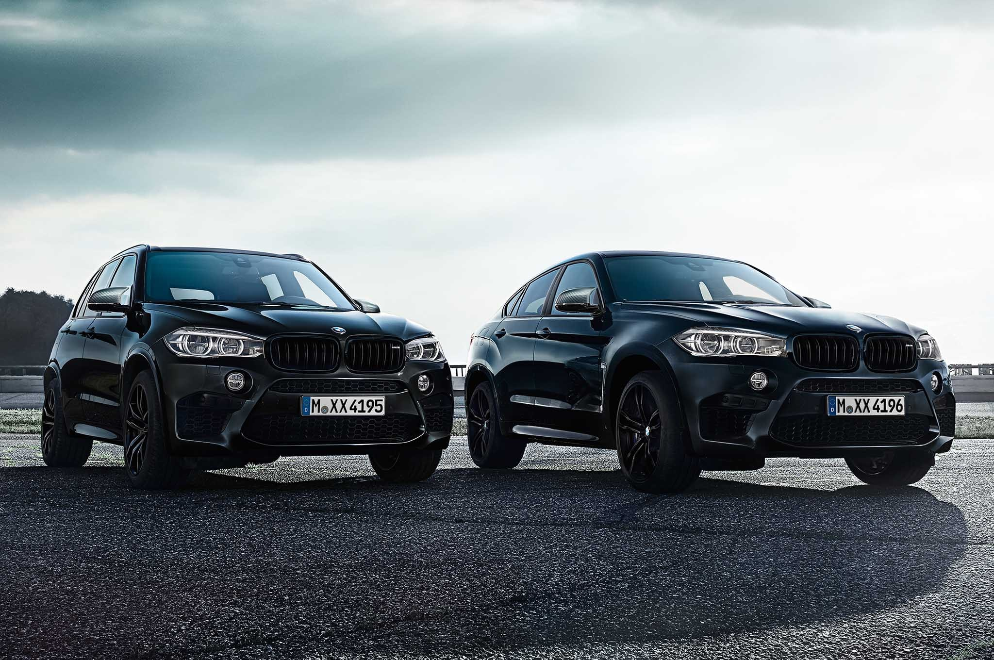 bmw introduces black fire edition x5 and x6 m automobile magazine. Black Bedroom Furniture Sets. Home Design Ideas