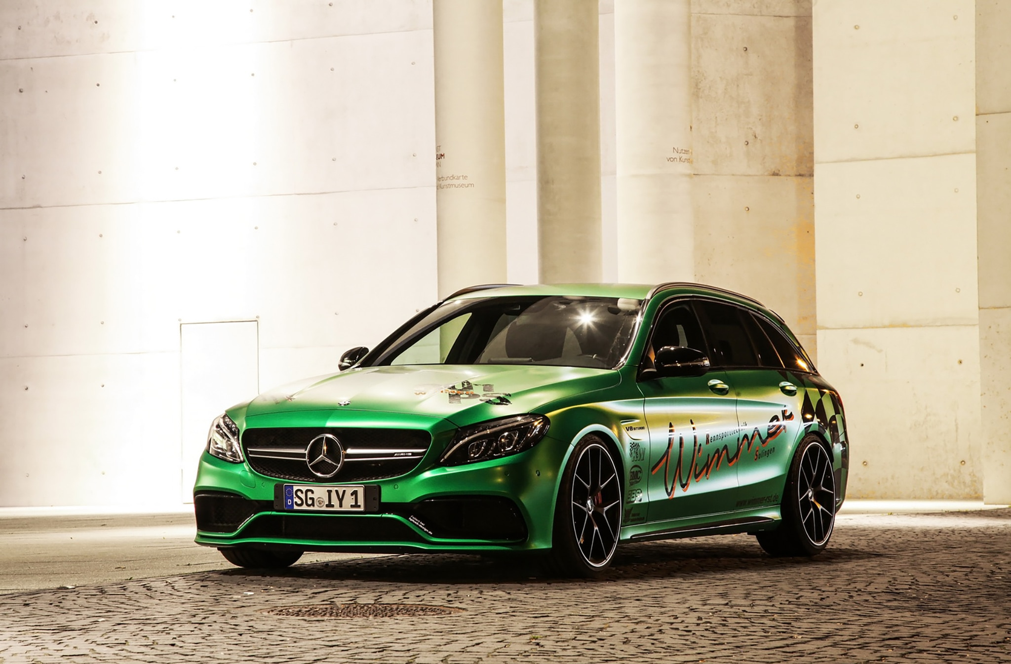 Mean Green Wimmer Tuned Mercedes AMG C 63 S Makes 790