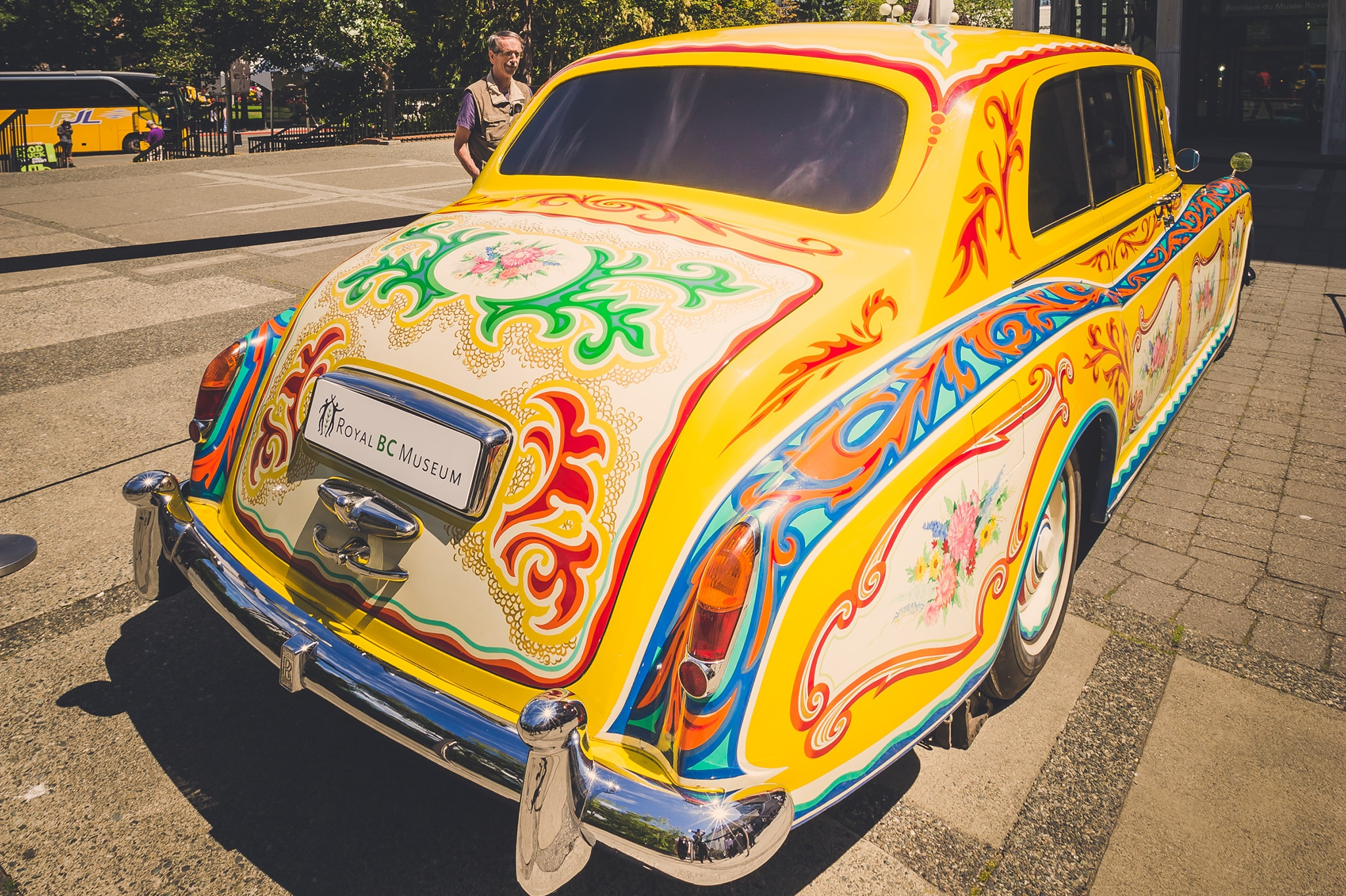 John Lennon's Trippy Rolls-Royce is Coming to London