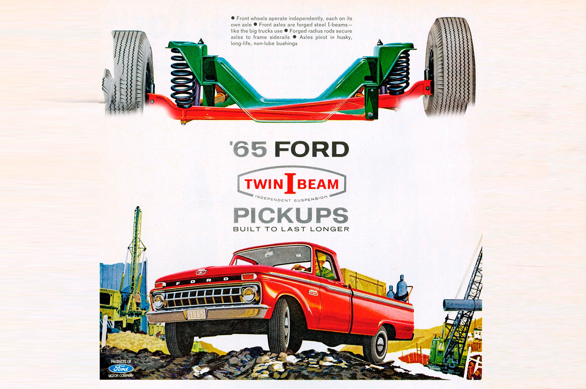 Ford celebrates 100 years of trucks