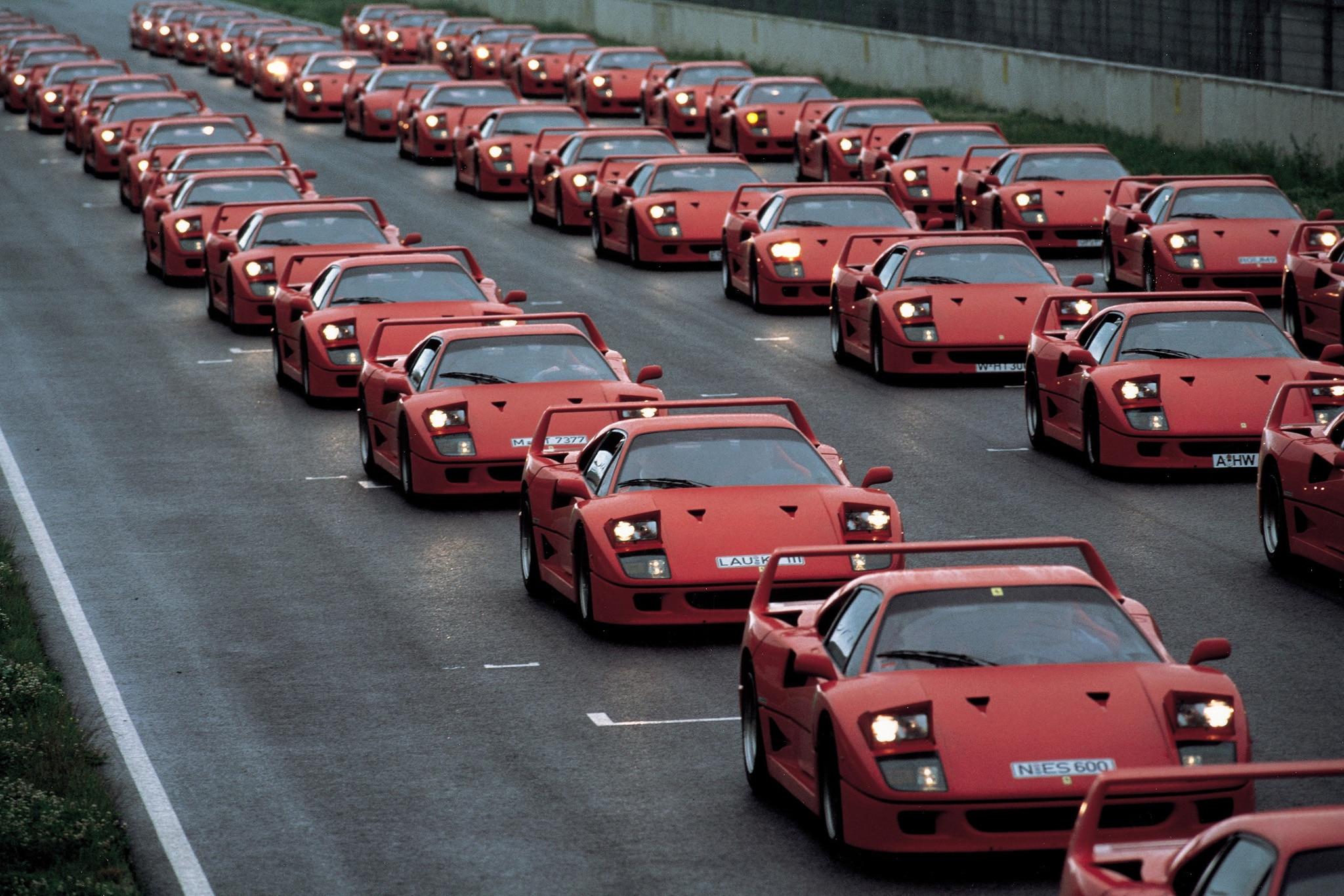 Happy 30th birthday ferrari f40 automobile magazine conner golden vanachro Choice Image