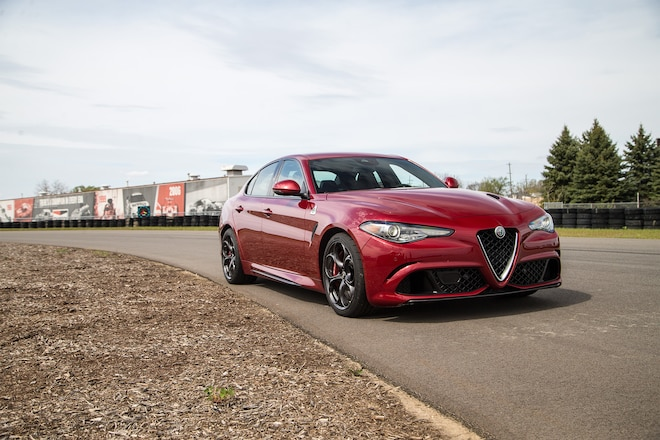 alfa romeo raises price of 2018 giulia quadrifoglio automobile magazine. Black Bedroom Furniture Sets. Home Design Ideas