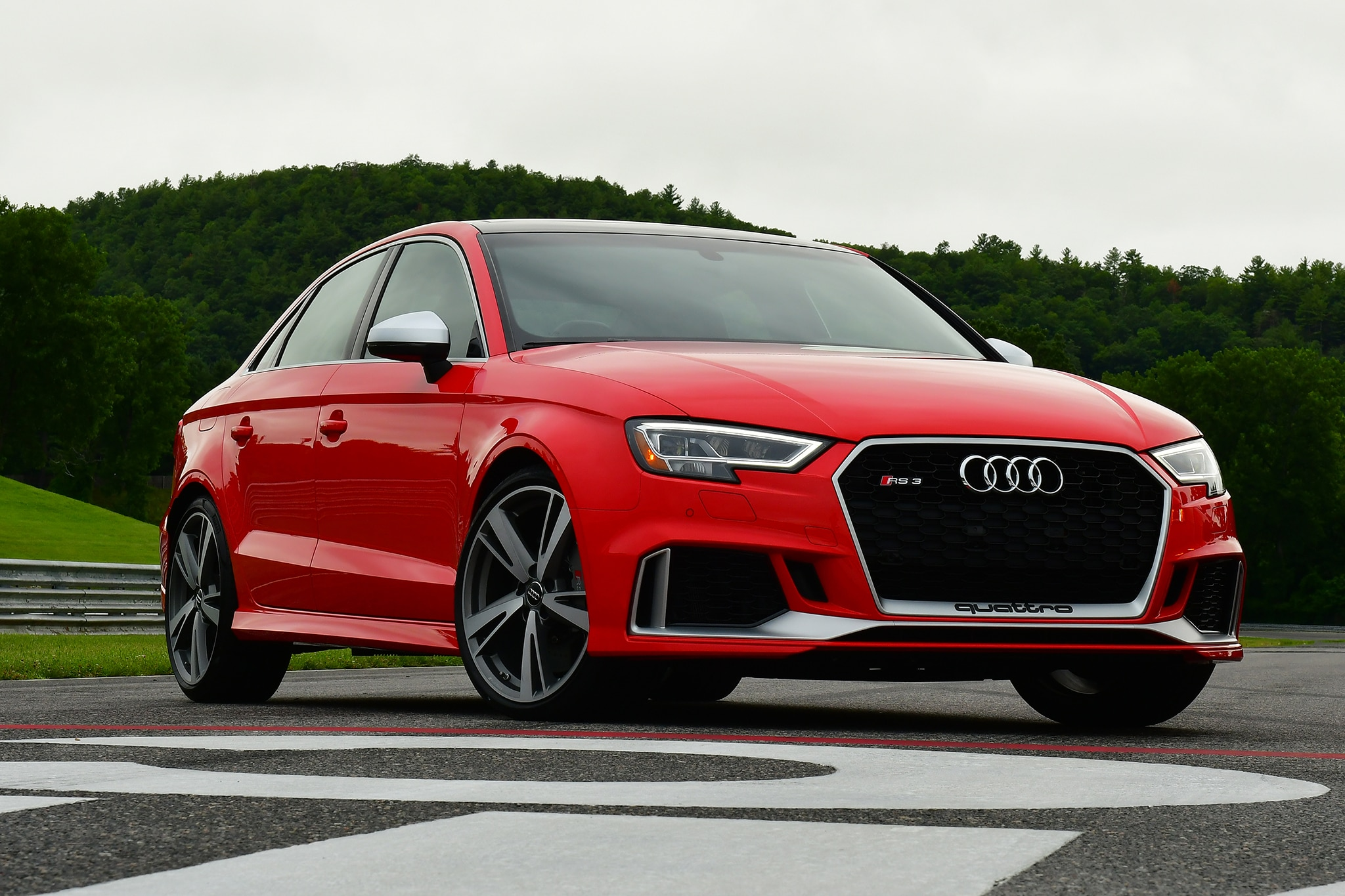 2018 audi rs3 first drive review automobile magazine. Black Bedroom Furniture Sets. Home Design Ideas