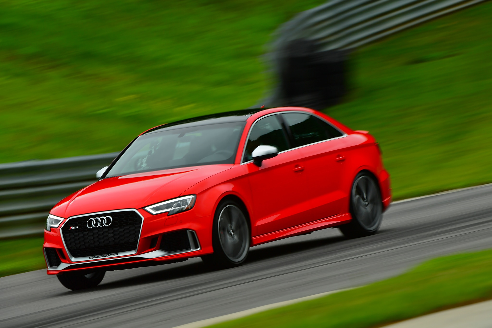 2018 Audi RS3 Front Three Quarter In Motion 11