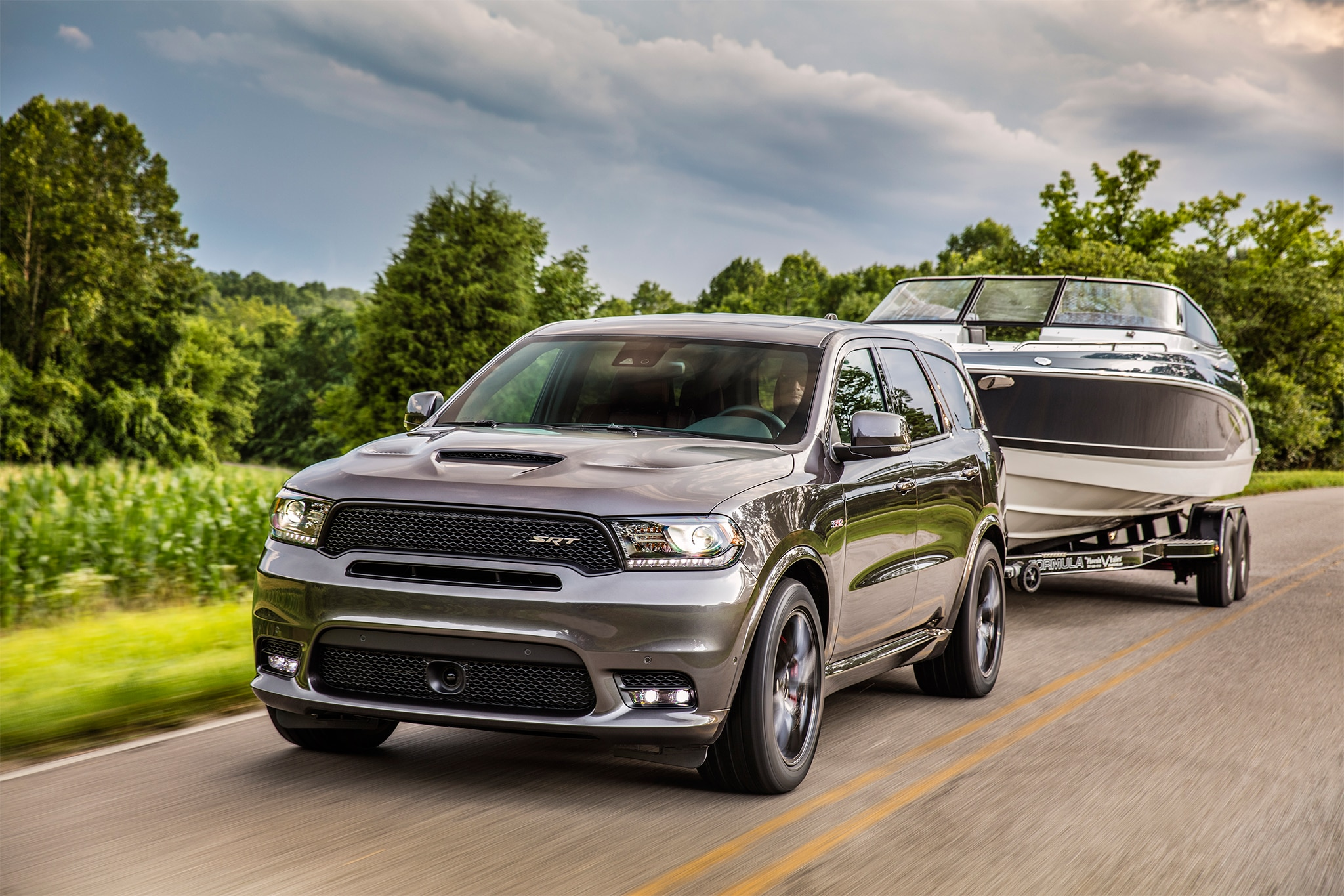 2018 Dodge Durango Srt First Drive Edmunds Autos Post
