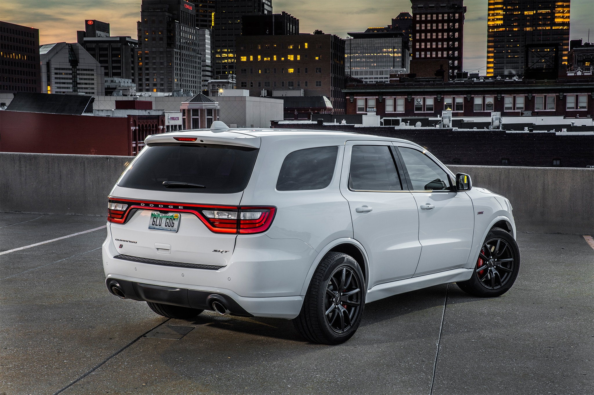 2018 dodge durango srt first drive review automobile magazine. Black Bedroom Furniture Sets. Home Design Ideas
