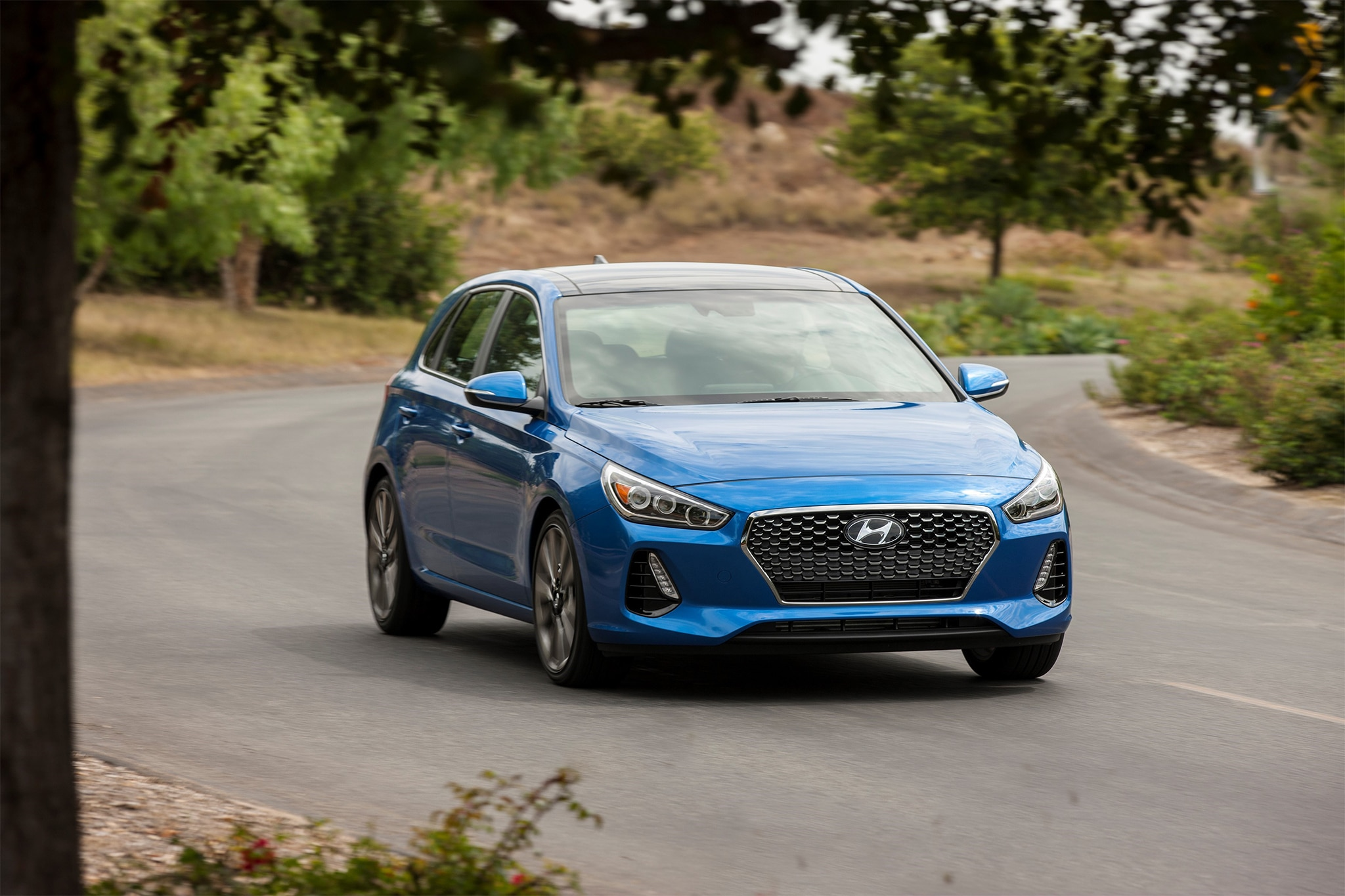 2018 hyundai elantra gt sport first drive review automobile magazine. Black Bedroom Furniture Sets. Home Design Ideas