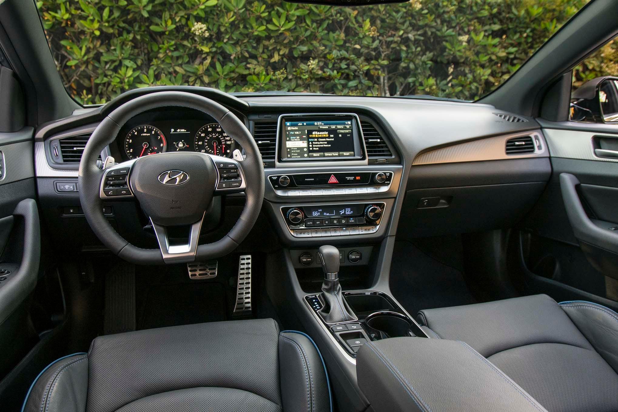 2018 Hyundai Sonata First Drive Review Automobile Magazine