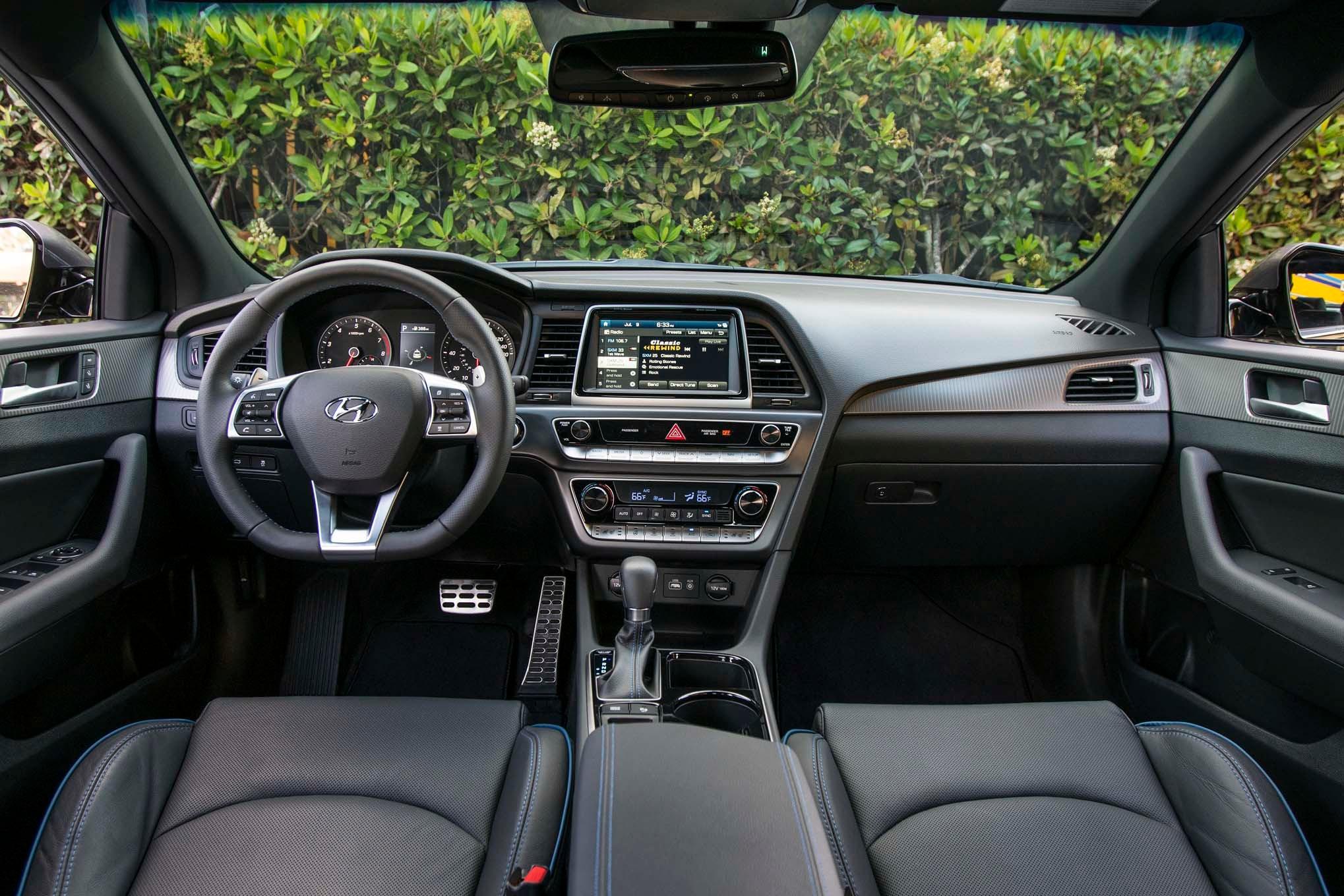 Hyundai Sonata 2 0 T Limited >> 2018 Hyundai Sonata First Drive Review | Automobile Magazine