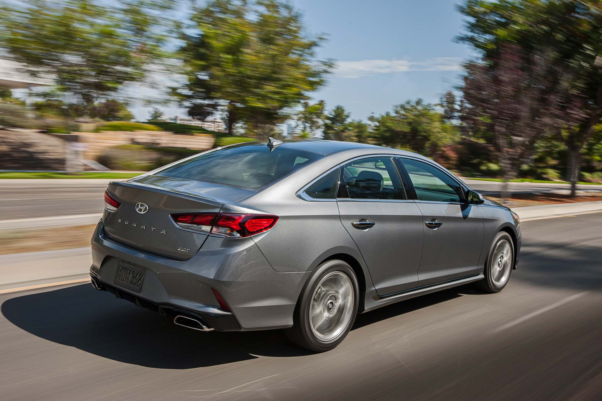 2018 Hyundai Sonata First Drive Review Automobile Magazine
