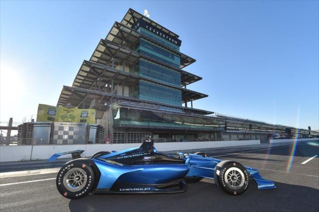 New Indycar Finally Unveiled For Automobile Magazine