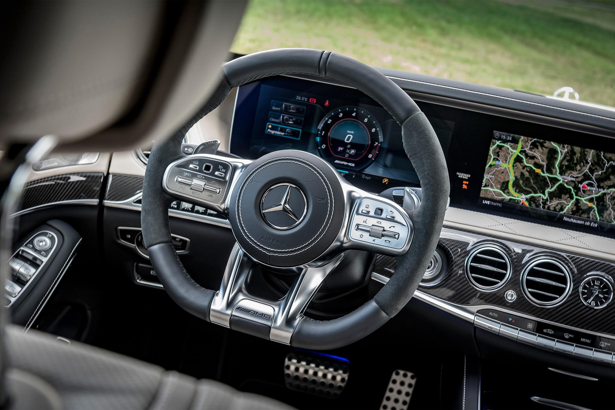 First Drive 2018 Mercedes Benz S Class Automobile Magazine