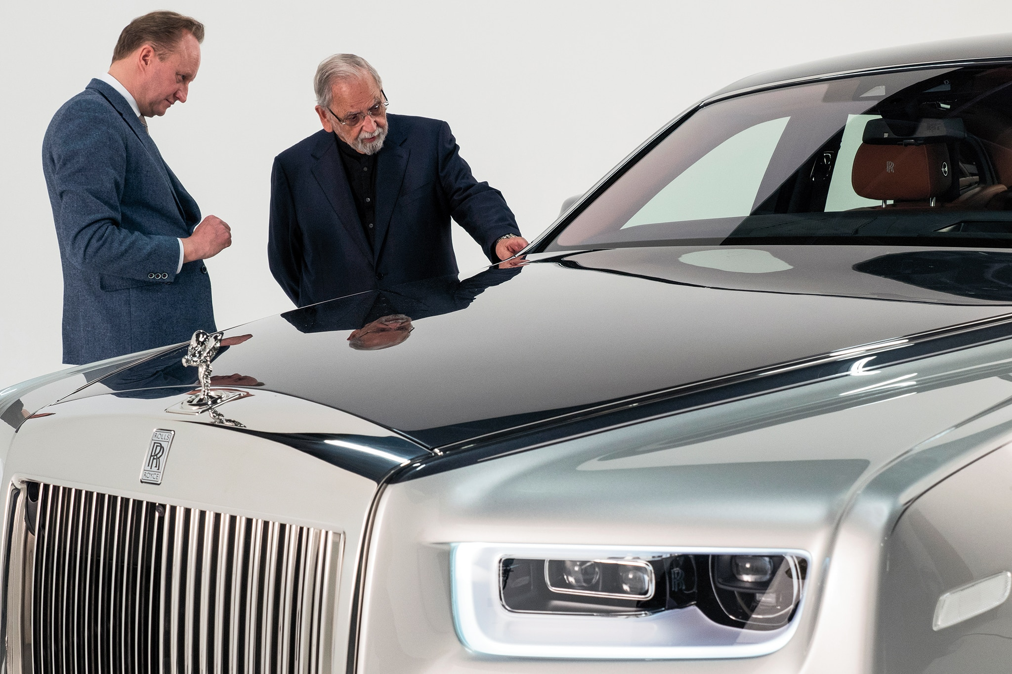 2018 rolls royce phantom coupe. wonderful royce where the famous faade was simply applied to front surface of both  ghost and  intended 2018 rolls royce phantom coupe