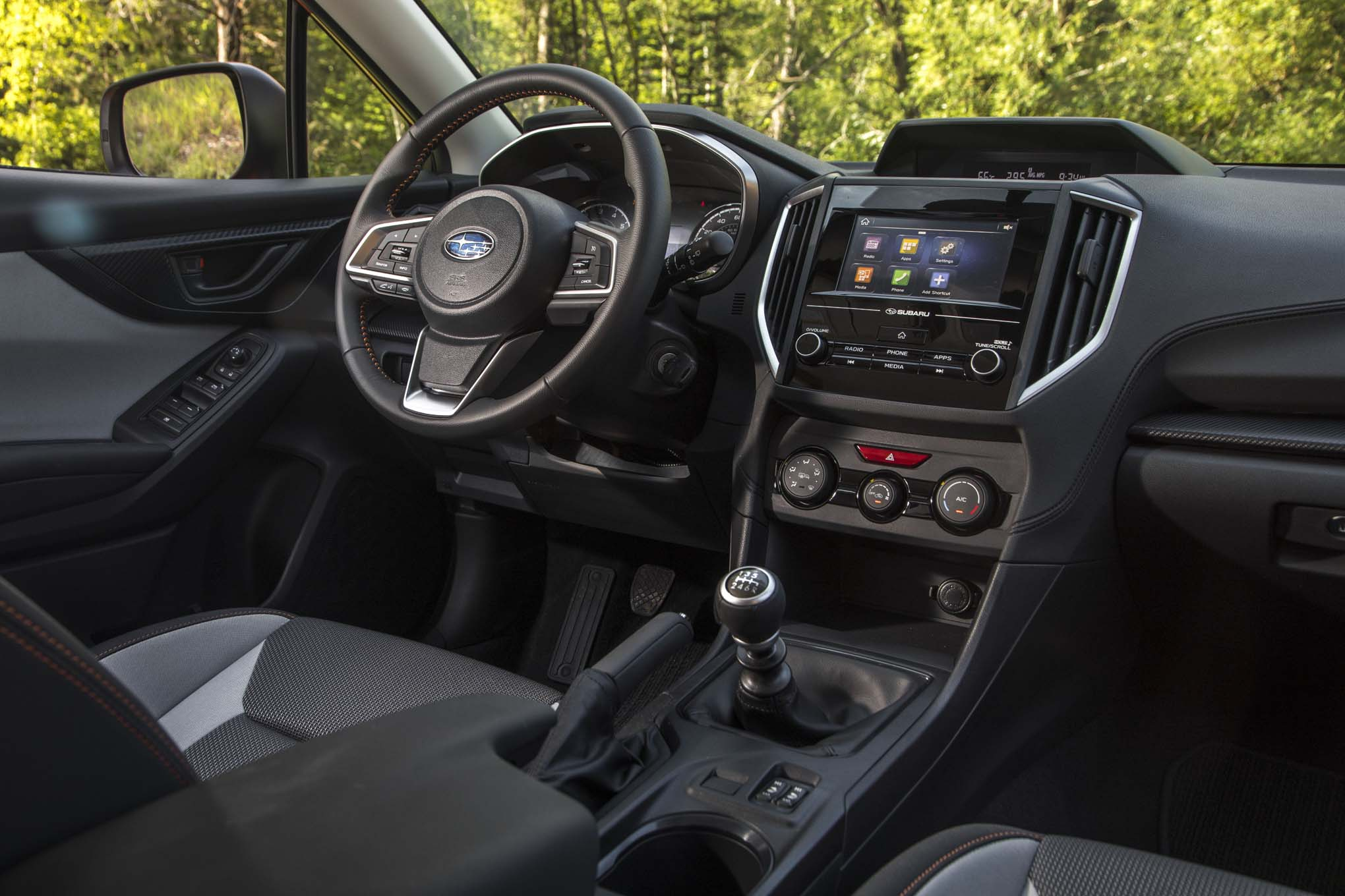 2018 subaru crosstrek interior. perfect subaru up and down reminded me that the subaru crosstrek which features  minimum ground clearance of 87 inches is more offroadable than any b or csegment with 2018 subaru crosstrek interior