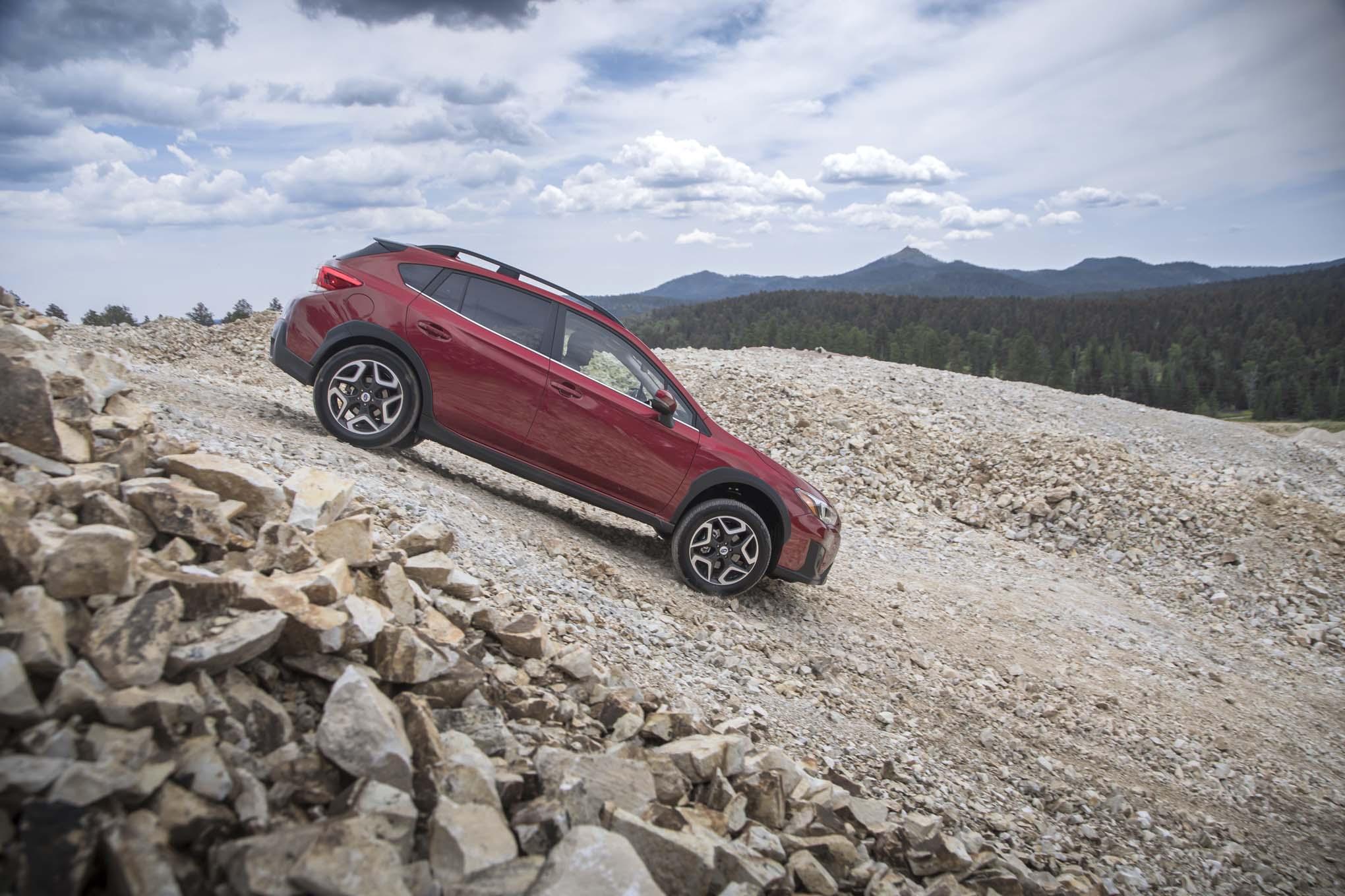 2018 Subaru Crosstrek Side Offroad 02