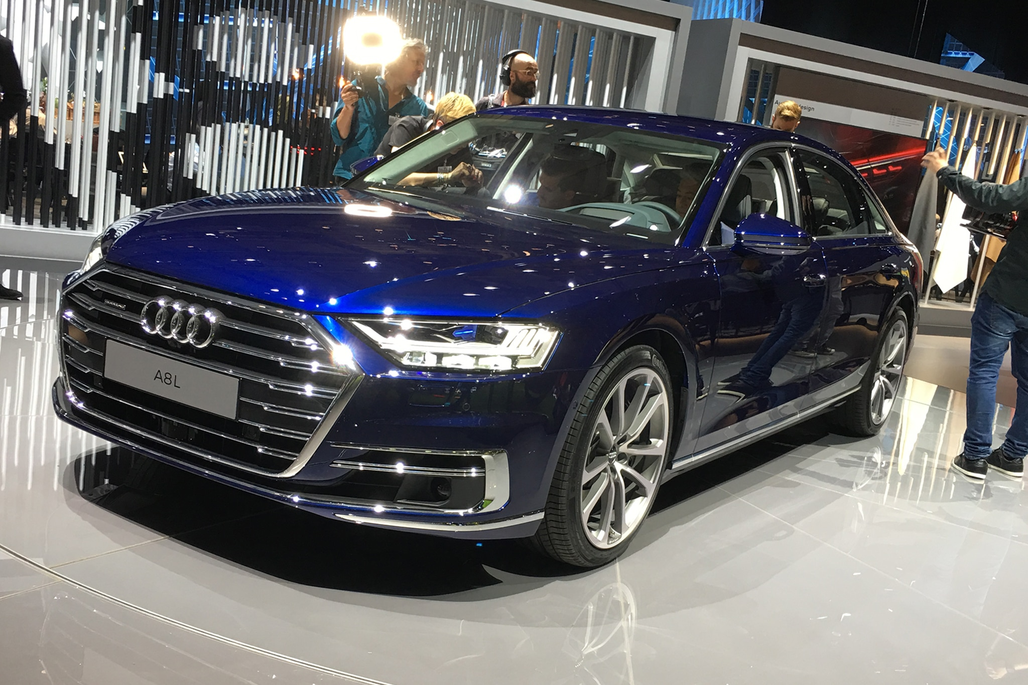 2019 audi a8 rolls in ready to drive itself automobile magazine