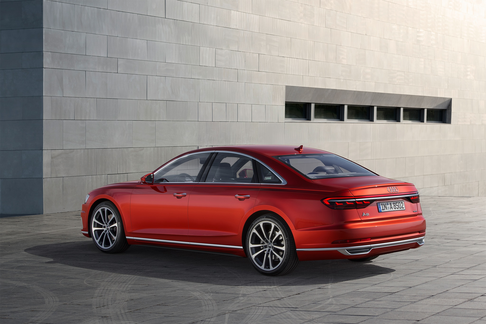 Audi A Rolls In Ready To Drive Itself Automobile Magazine - Audi car that parks itself