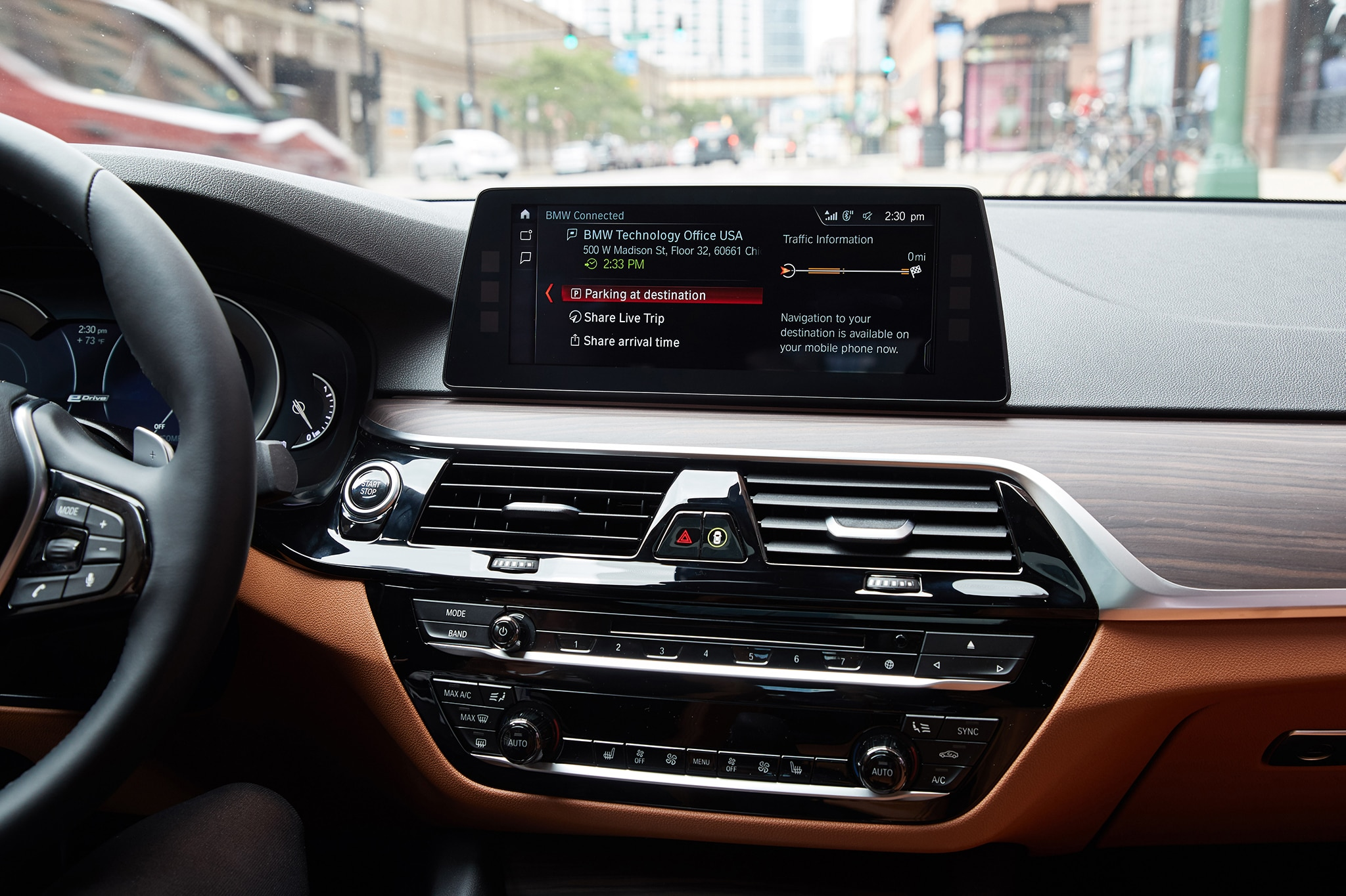 Honk Driver App >> Testing BMW's New Connected+ Technology in a 530e iPerformance   Automobile Magazine