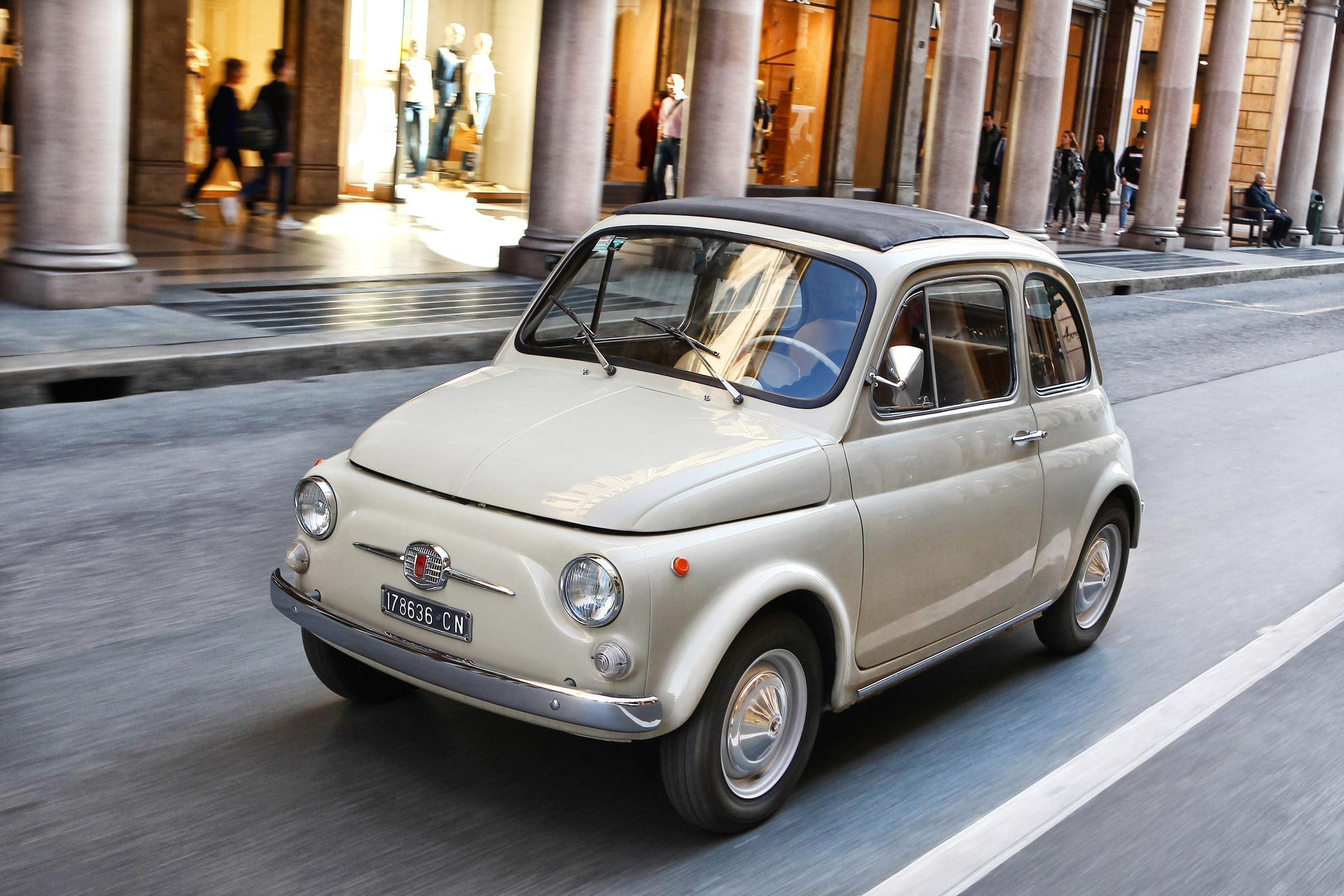 moma adds a 1968 fiat 500 to its permanent collection automobile magazine. Black Bedroom Furniture Sets. Home Design Ideas