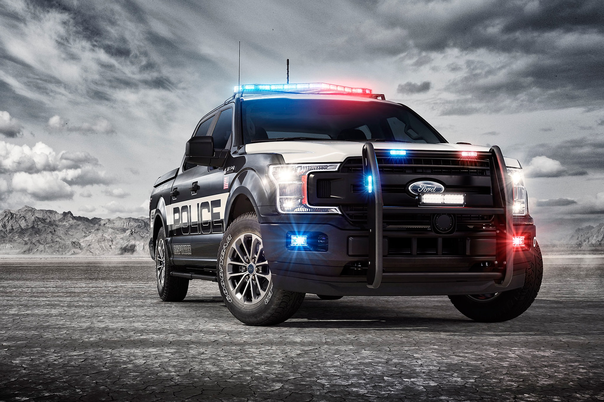 Ford Adds 2018 F-150 Police Responder Pickup to Truck Lineup