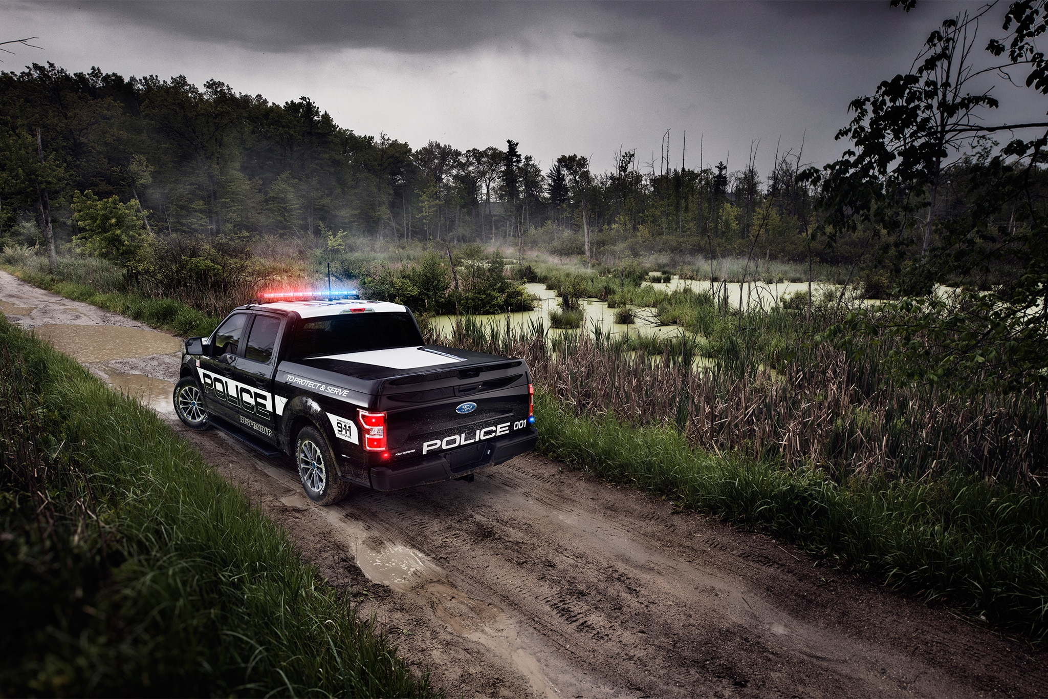 2018 Ford F-150 Police Pickup Ready to Respond