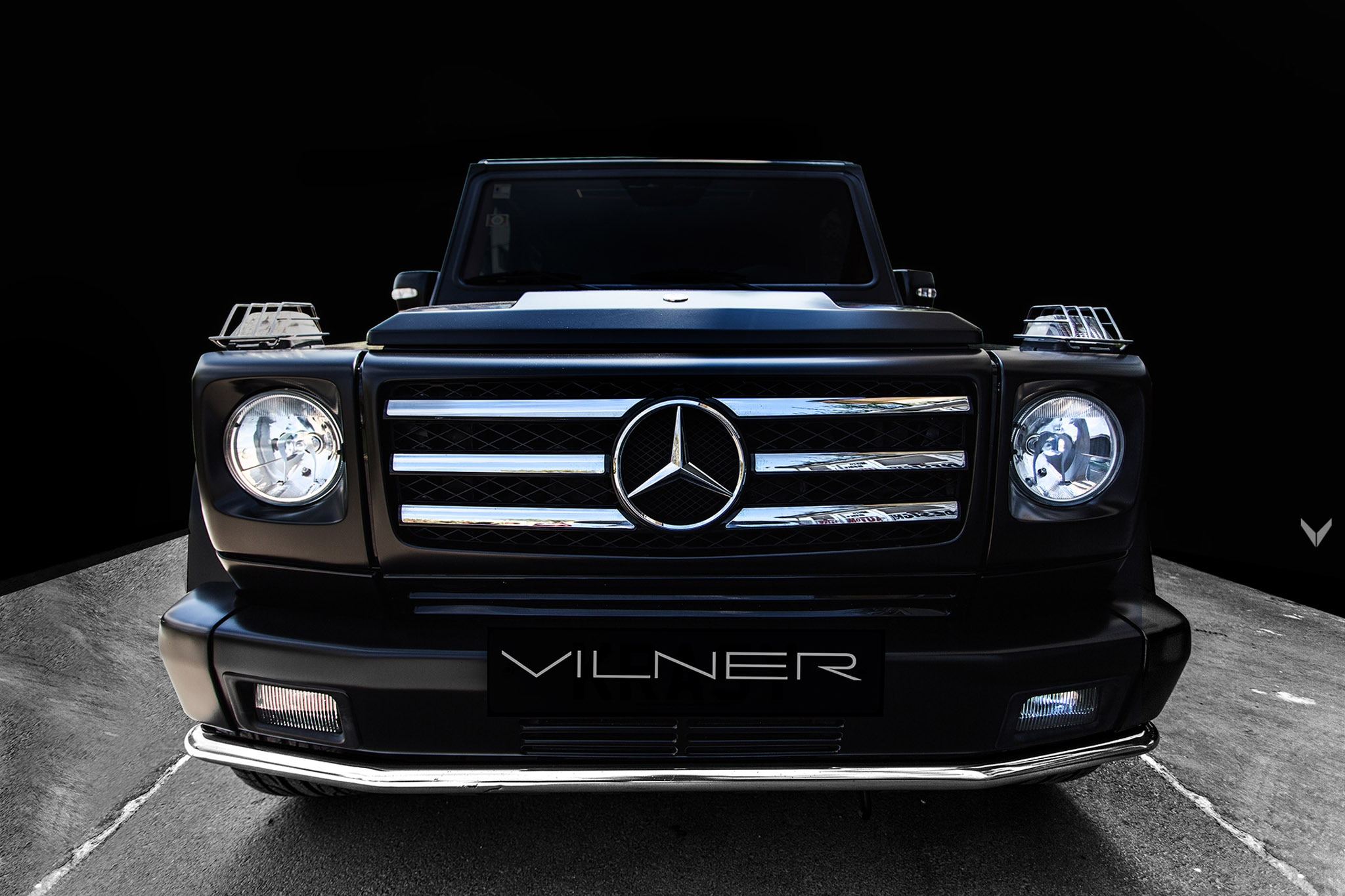2005 mercedes benz g55 amg gets new game by vilner for 2005 mercedes benz suv