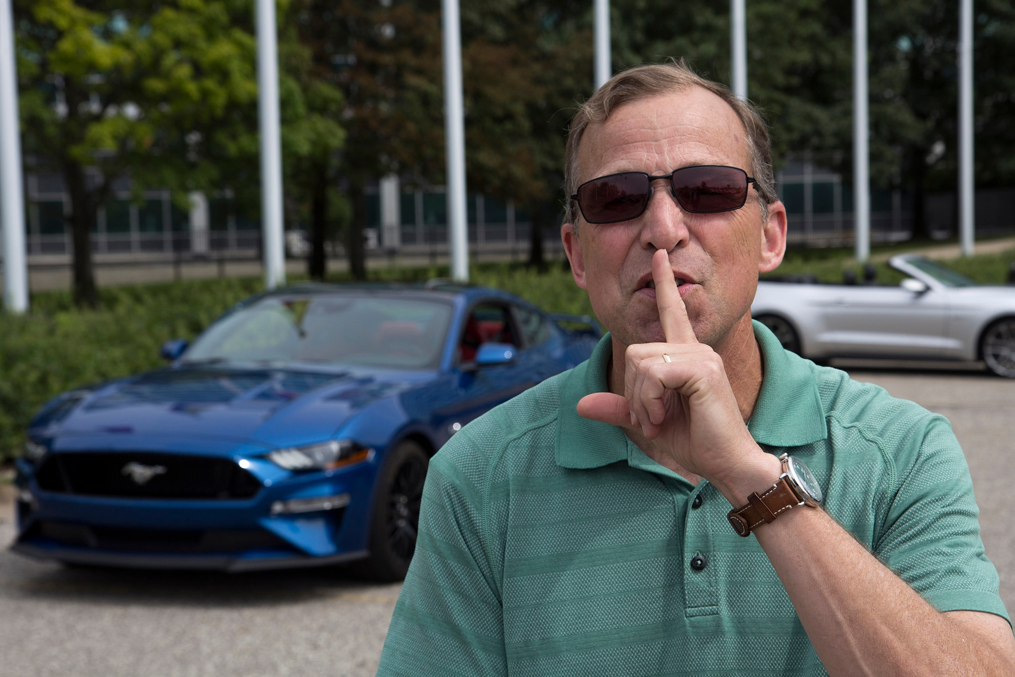 Ford Mustang Good Neighbor Mode Keeps Quiet
