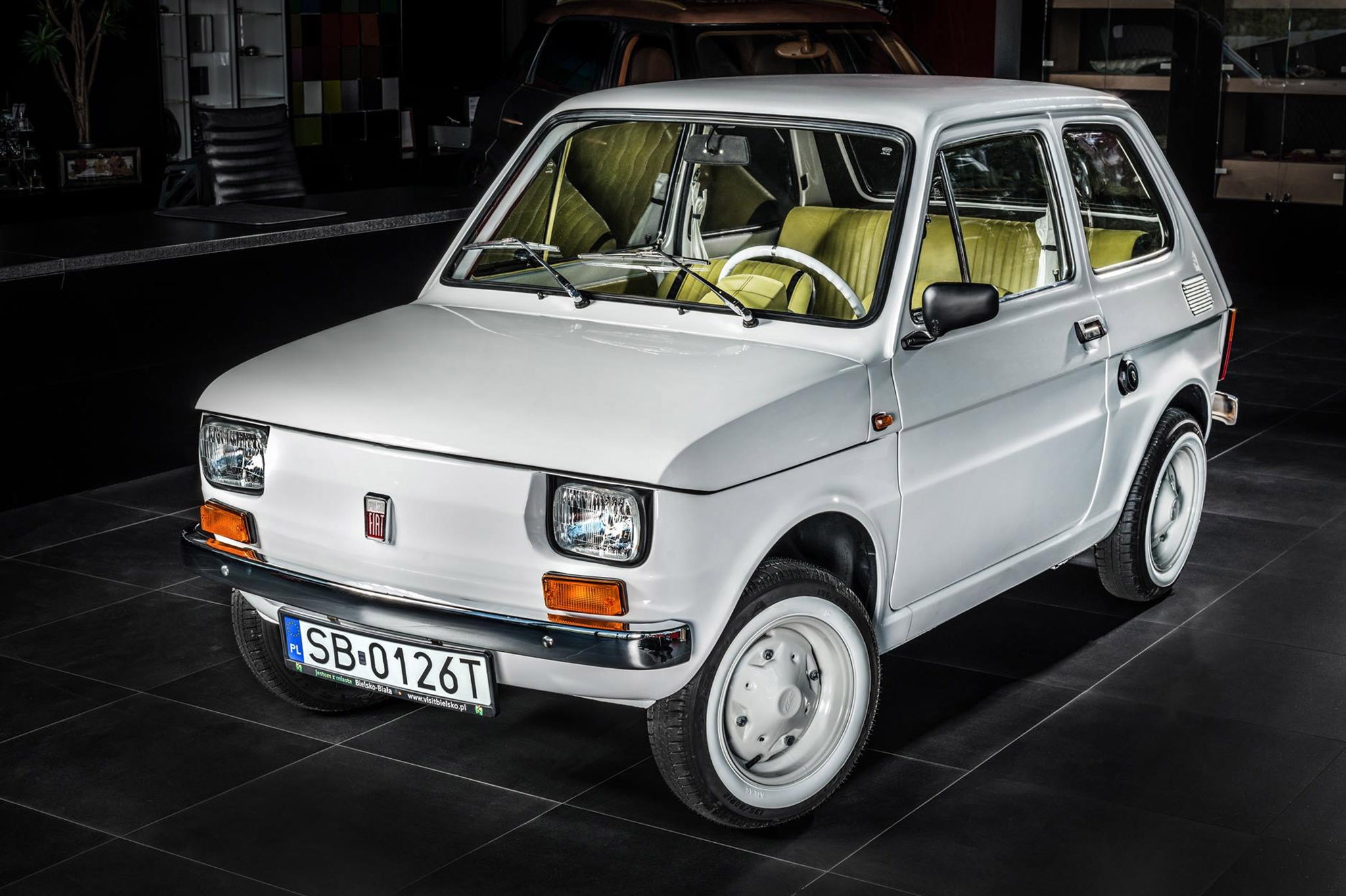 Tom Hanks 1974 Fiat 126p Carlex Design Front Three Quarter