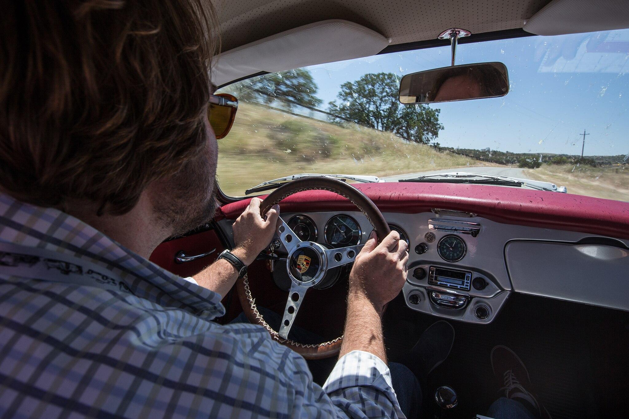 1964 Porsche 356 C Rory Jurnecka Driving 01
