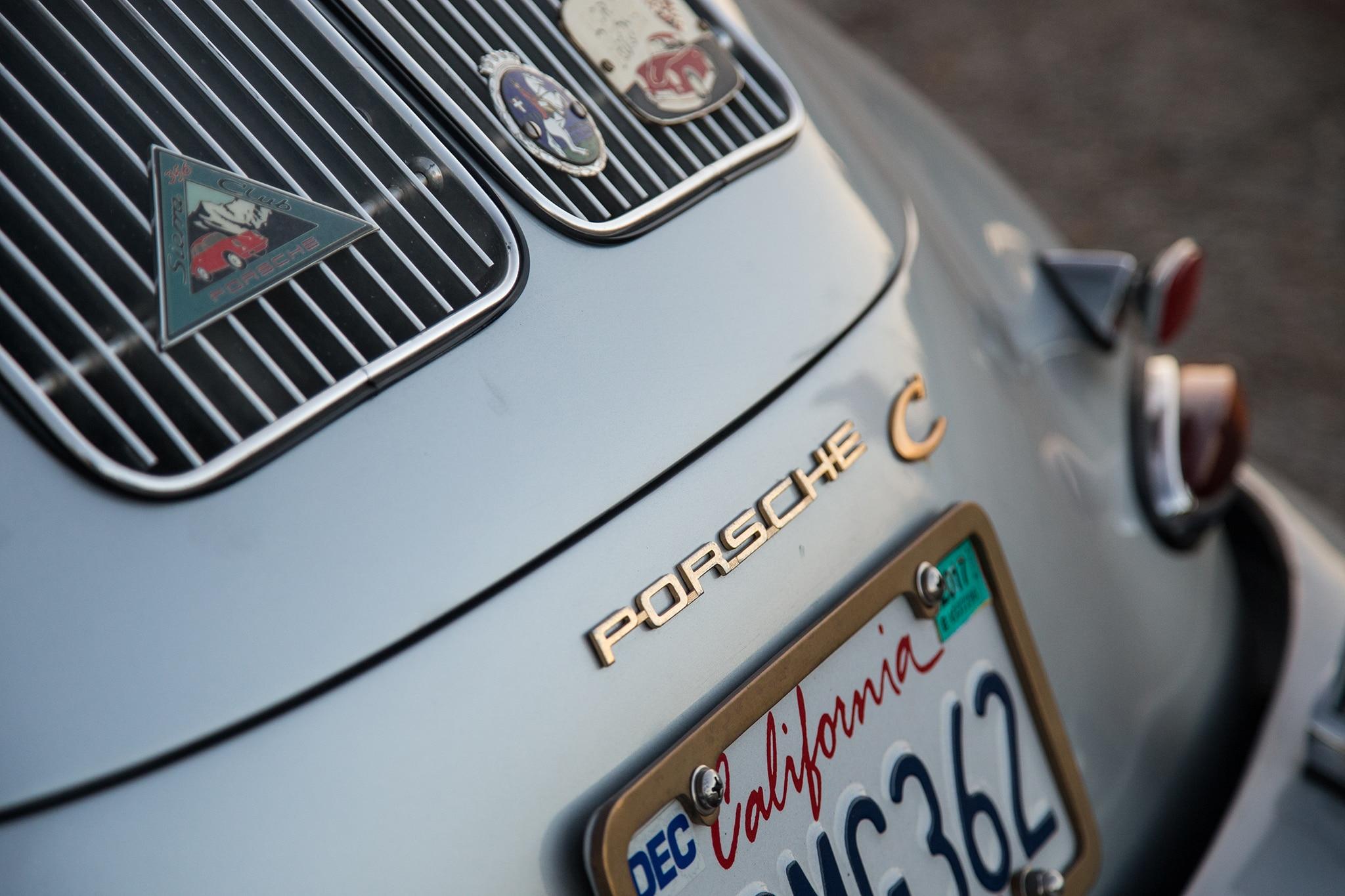 1964 Porsche 356 C Badge