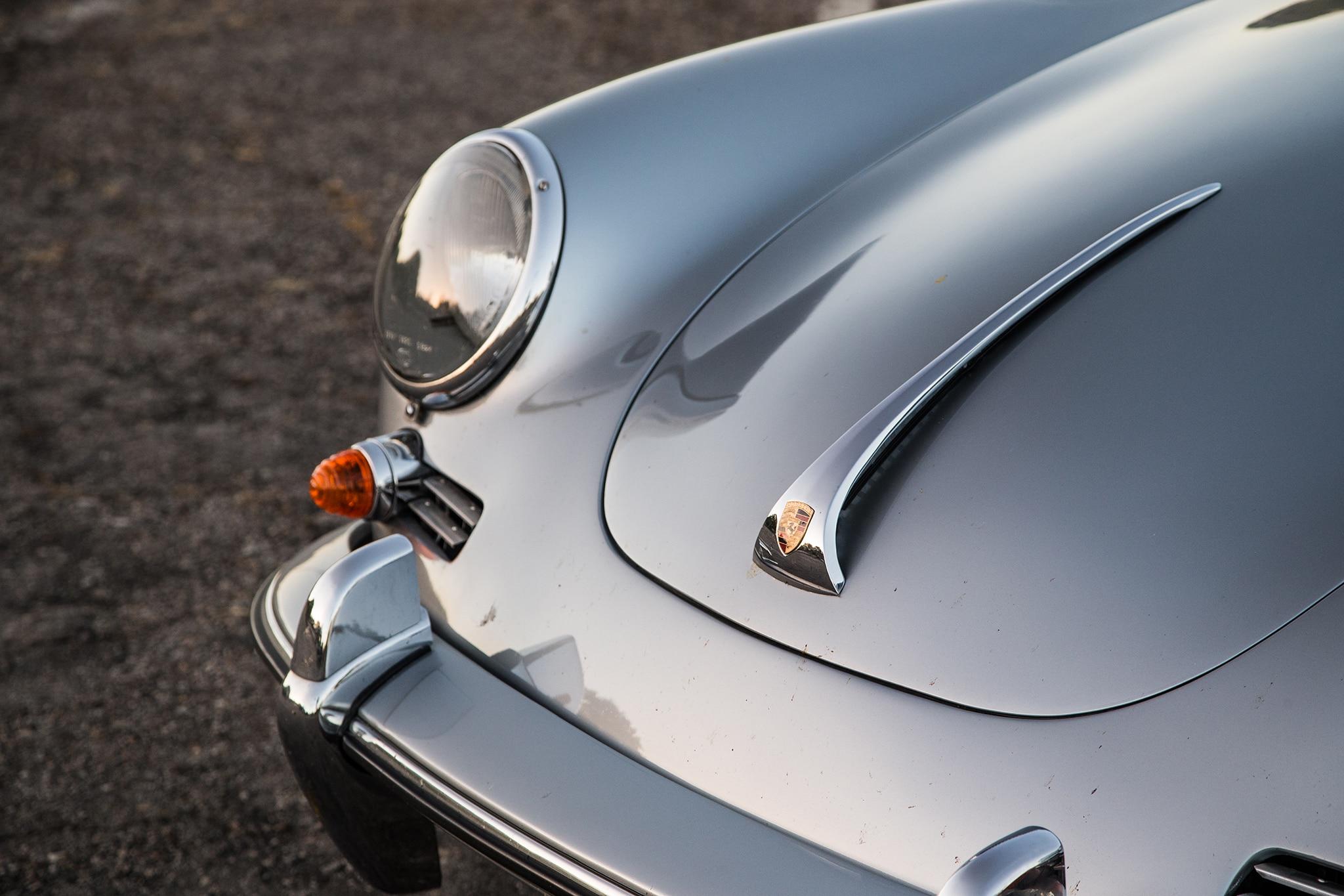 1964 Porsche 356 C Front End