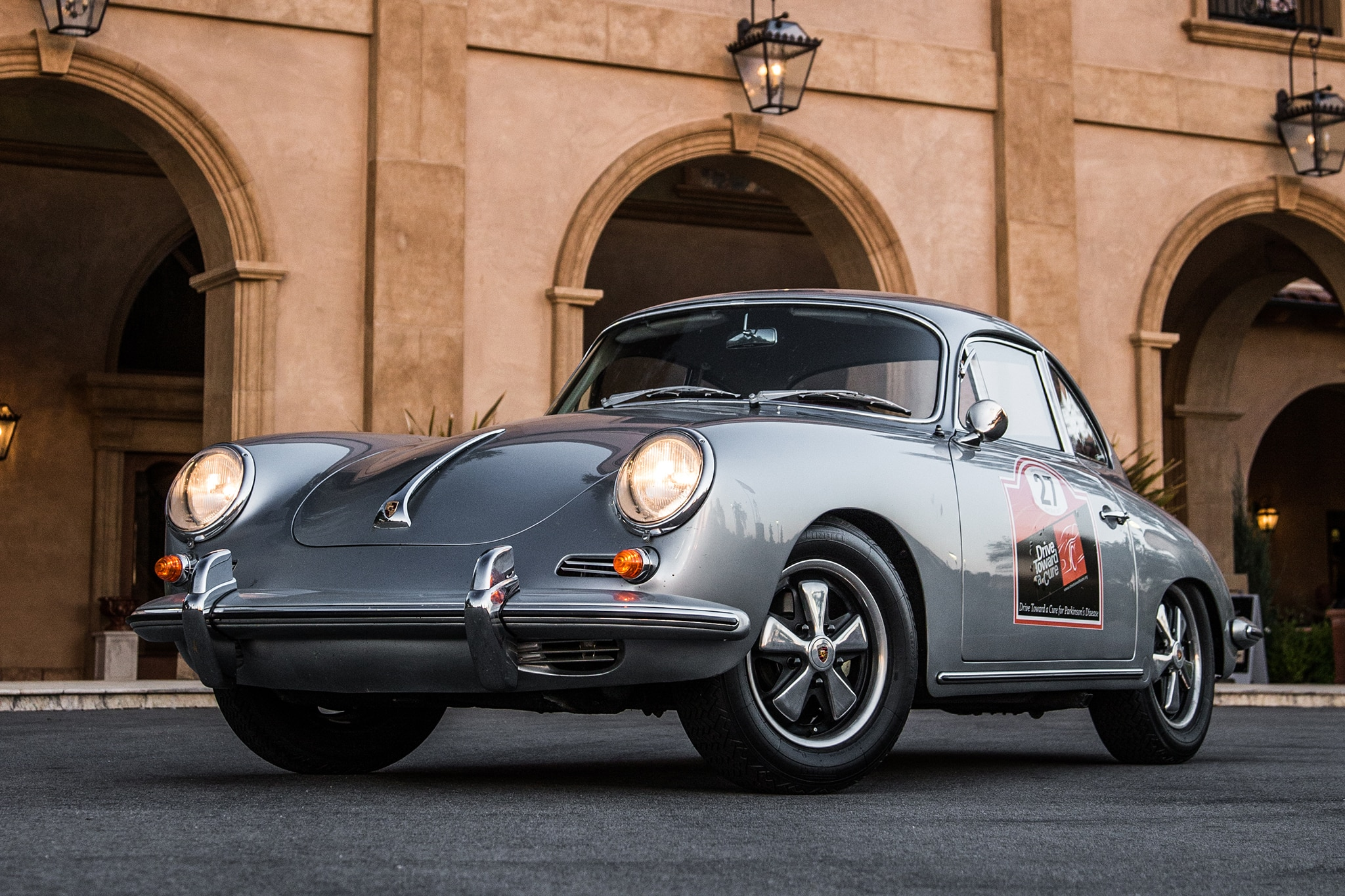 1964 Porsche 356 C Front Three Quarter 01