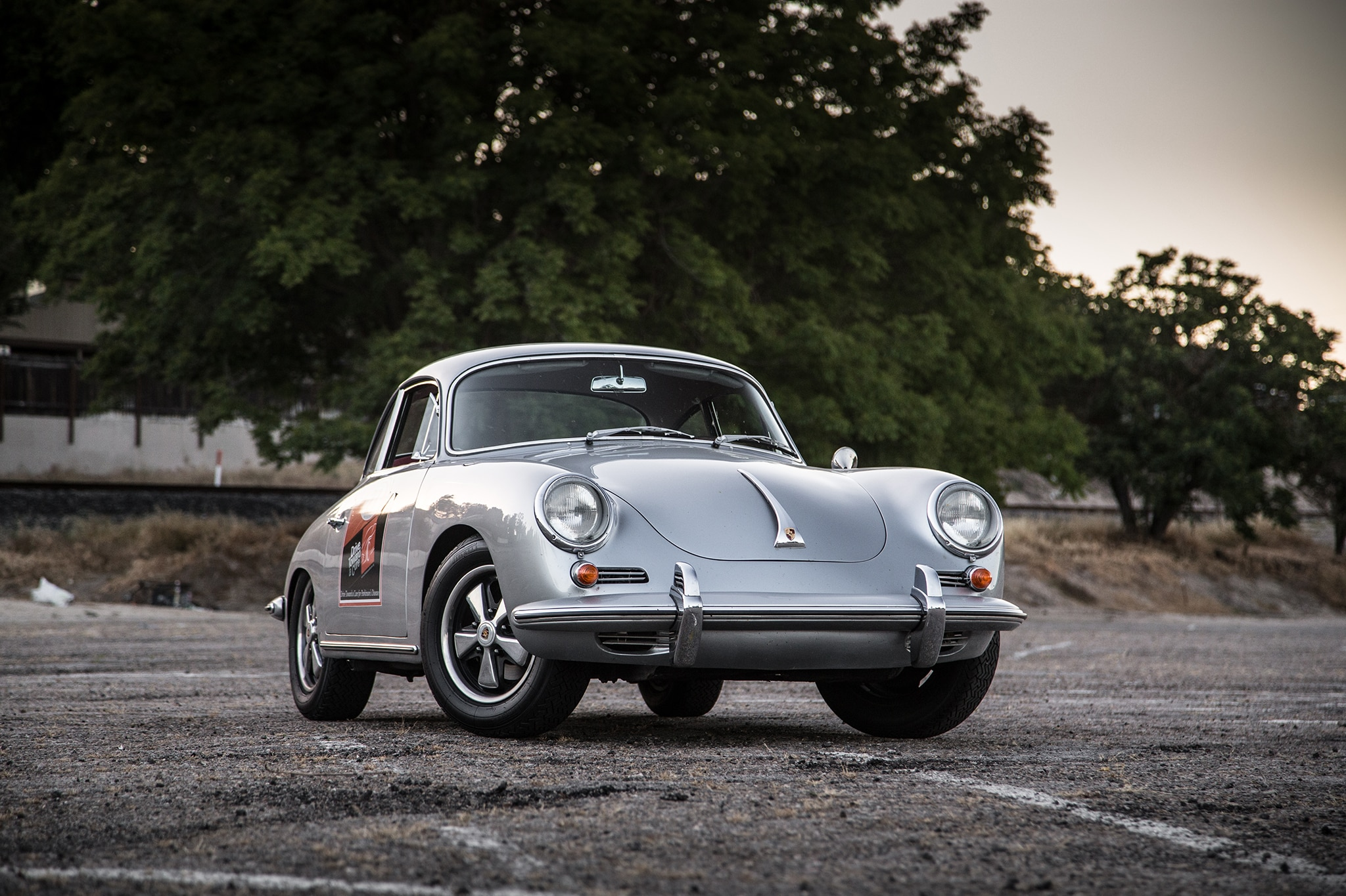 1964 Porsche 356 C Front Three Quarter 03
