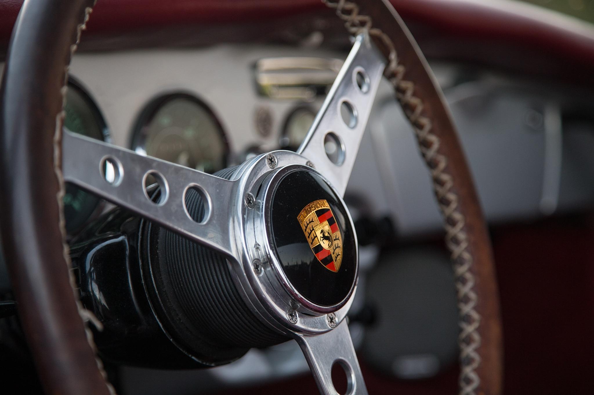 1964 Porsche 356 C Steering Wheel