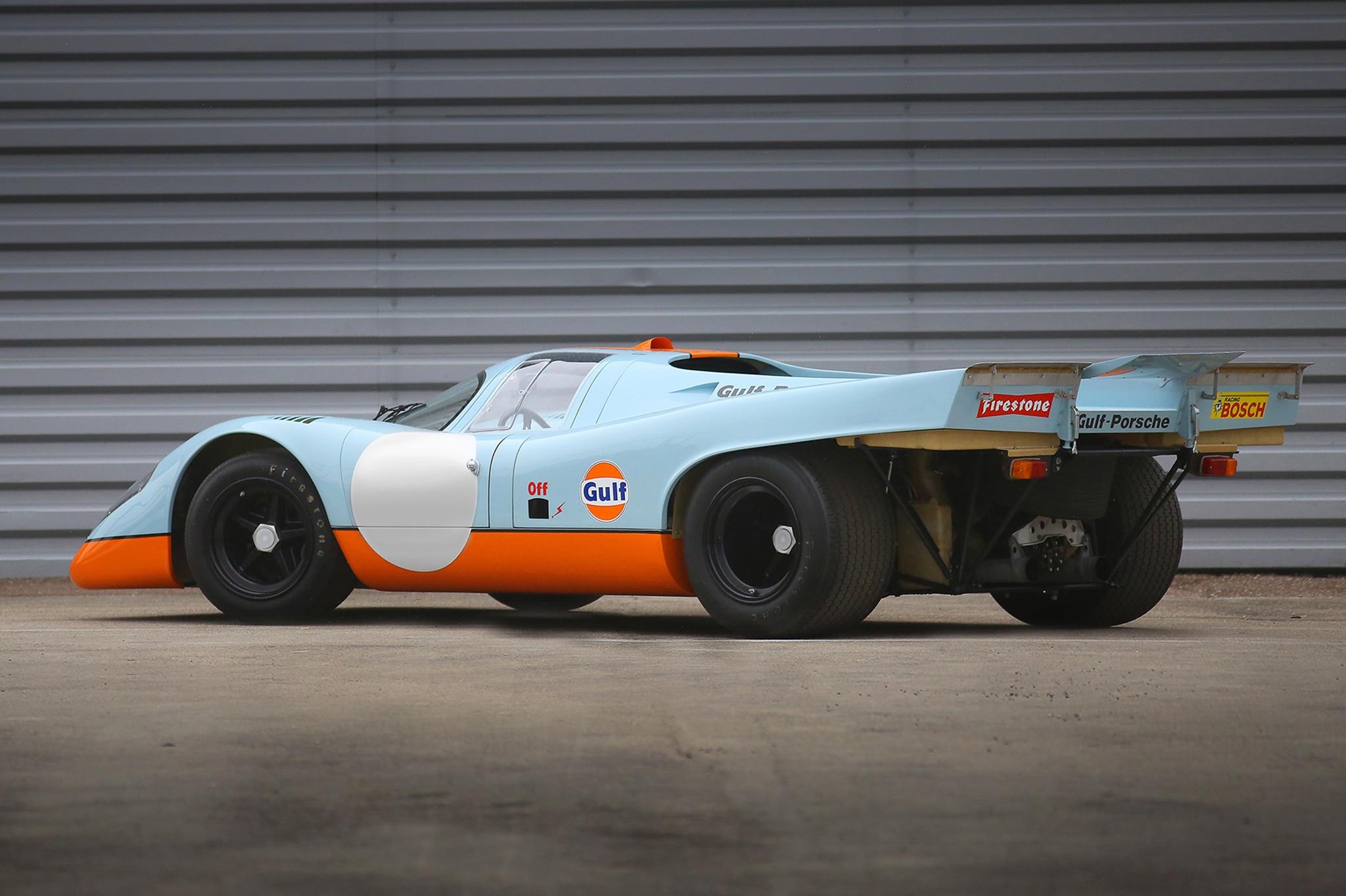 1970 Porsche 917K Rear Three Quarter