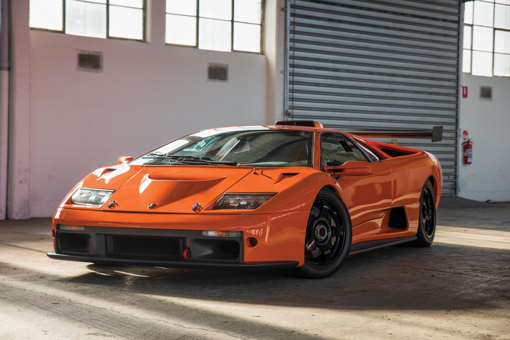 2000 Lamborghini Diablo GTR RM Sothebys Front Three Quarters
