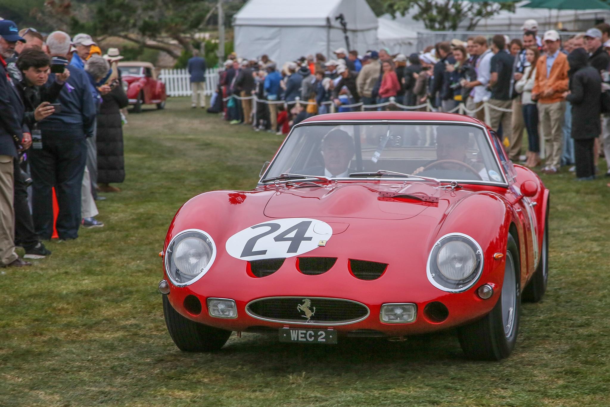 2017 Pebble Beach Concours Ferrari 250 GTO