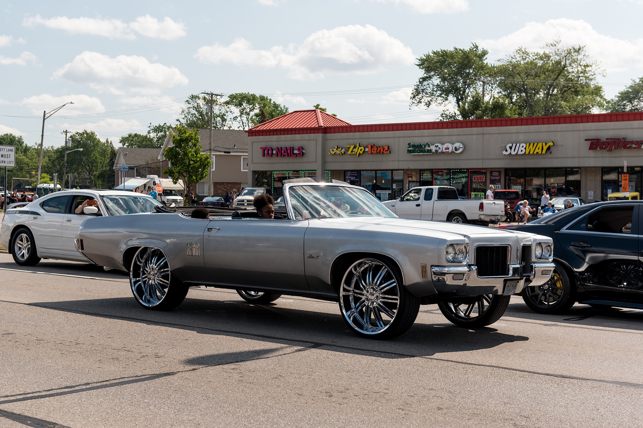 On the 2017 Woodward Dream Cruise