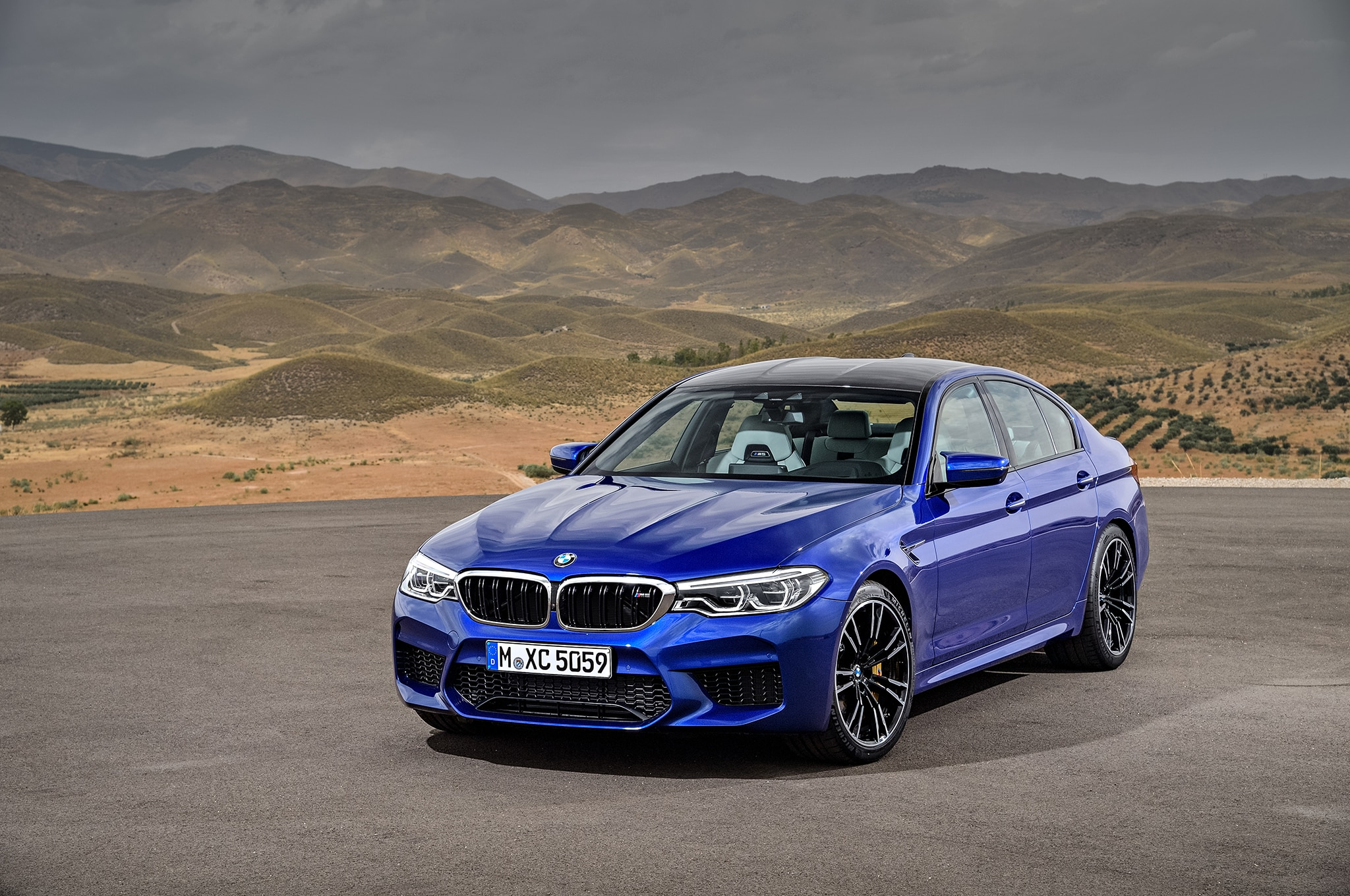 2018 Bmw M5 Arrives Packing A 600 Hp Twin Turbo V 8 Automobile Magazine