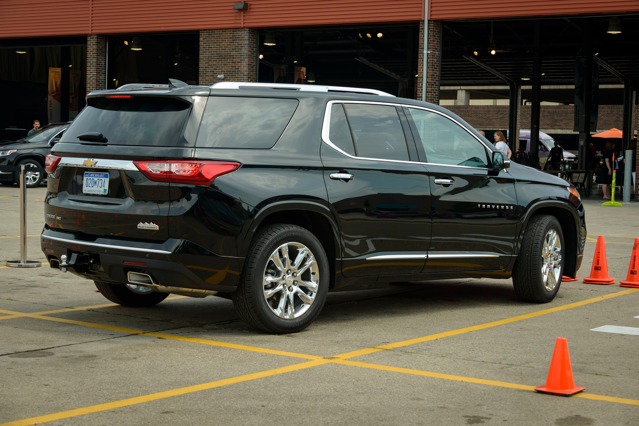 2018 chevrolet traverse premier first drive review automobile magazine. Black Bedroom Furniture Sets. Home Design Ideas