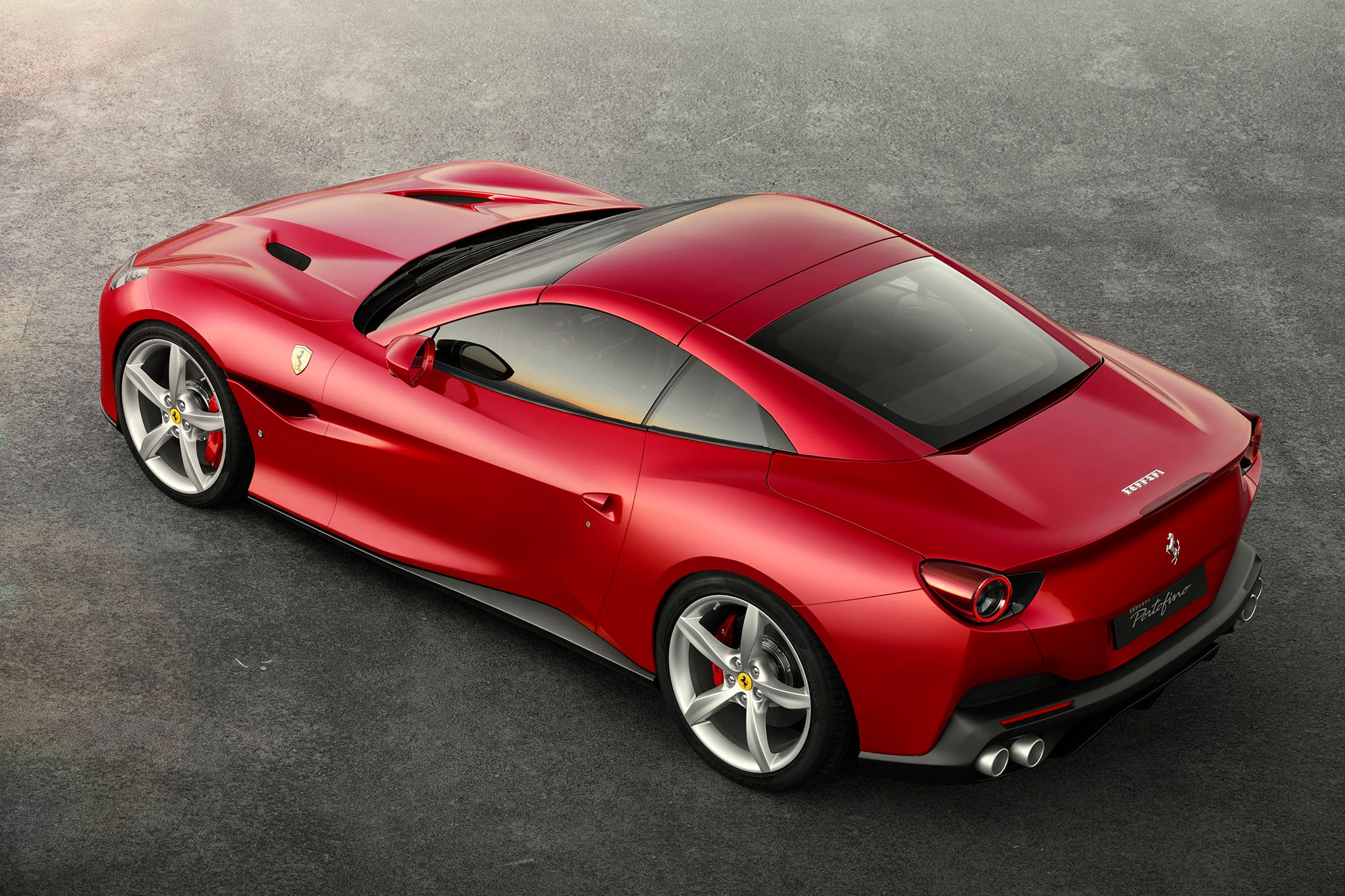 2018 ferrari. plain 2018 as for its underhood italian fury the california tu0027s twinturbocharged v8  has been reworked to produce 592 horsepower up 39 rampaging horses from  and 2018 ferrari