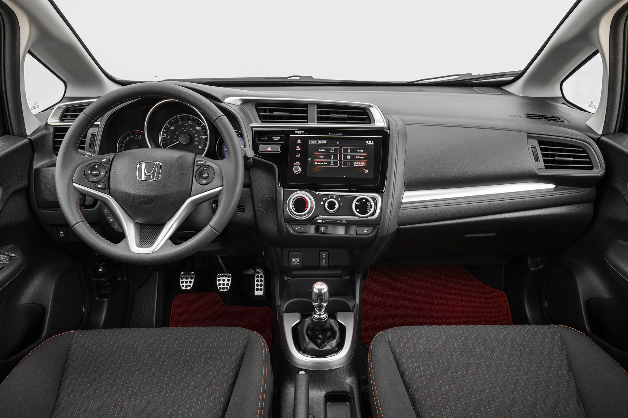 2018 honda fit. contemporary honda the 2018 fitu0027s infotainment  for honda fit n