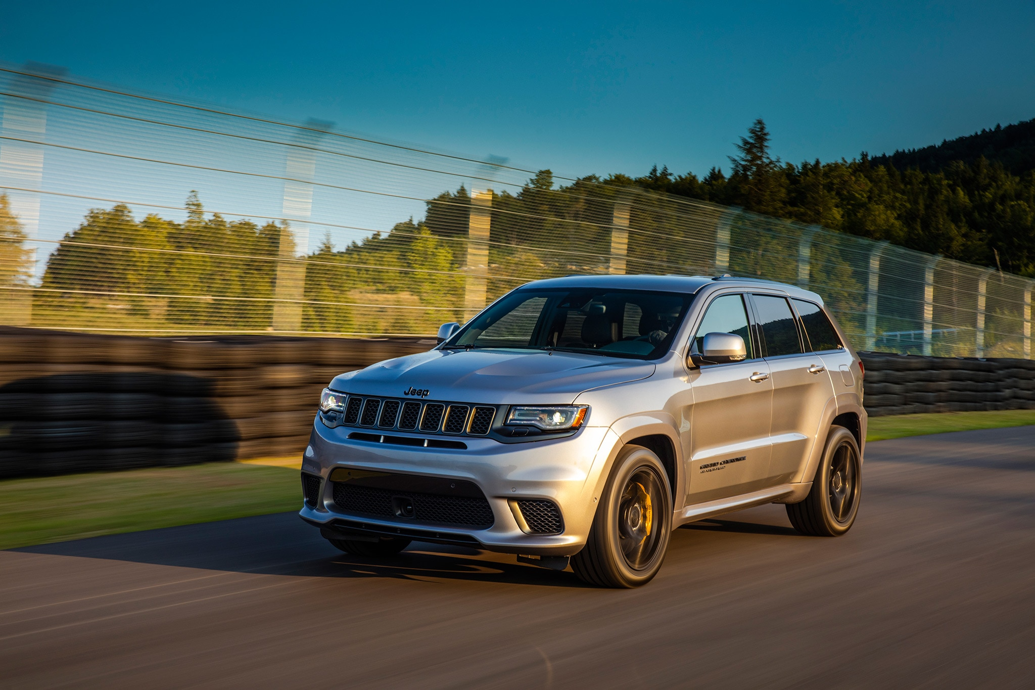 2018 jeep grand cherokee trackhawk first drive review automobile magazine. Black Bedroom Furniture Sets. Home Design Ideas