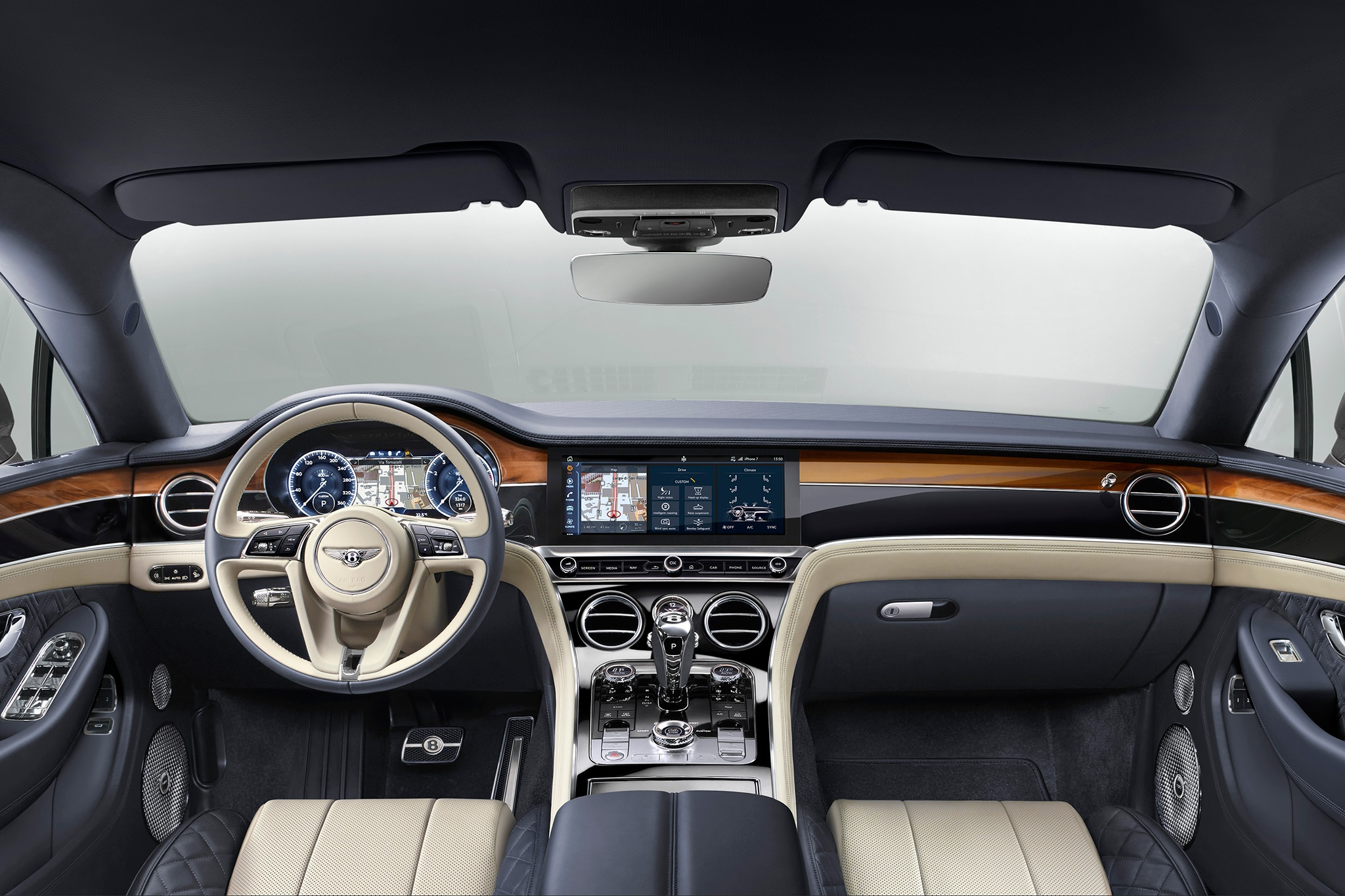 Continental Gt Interior 2018 >> 2019 Bentley Continental GT Cruises Out of Crewe | Automobile Magazine