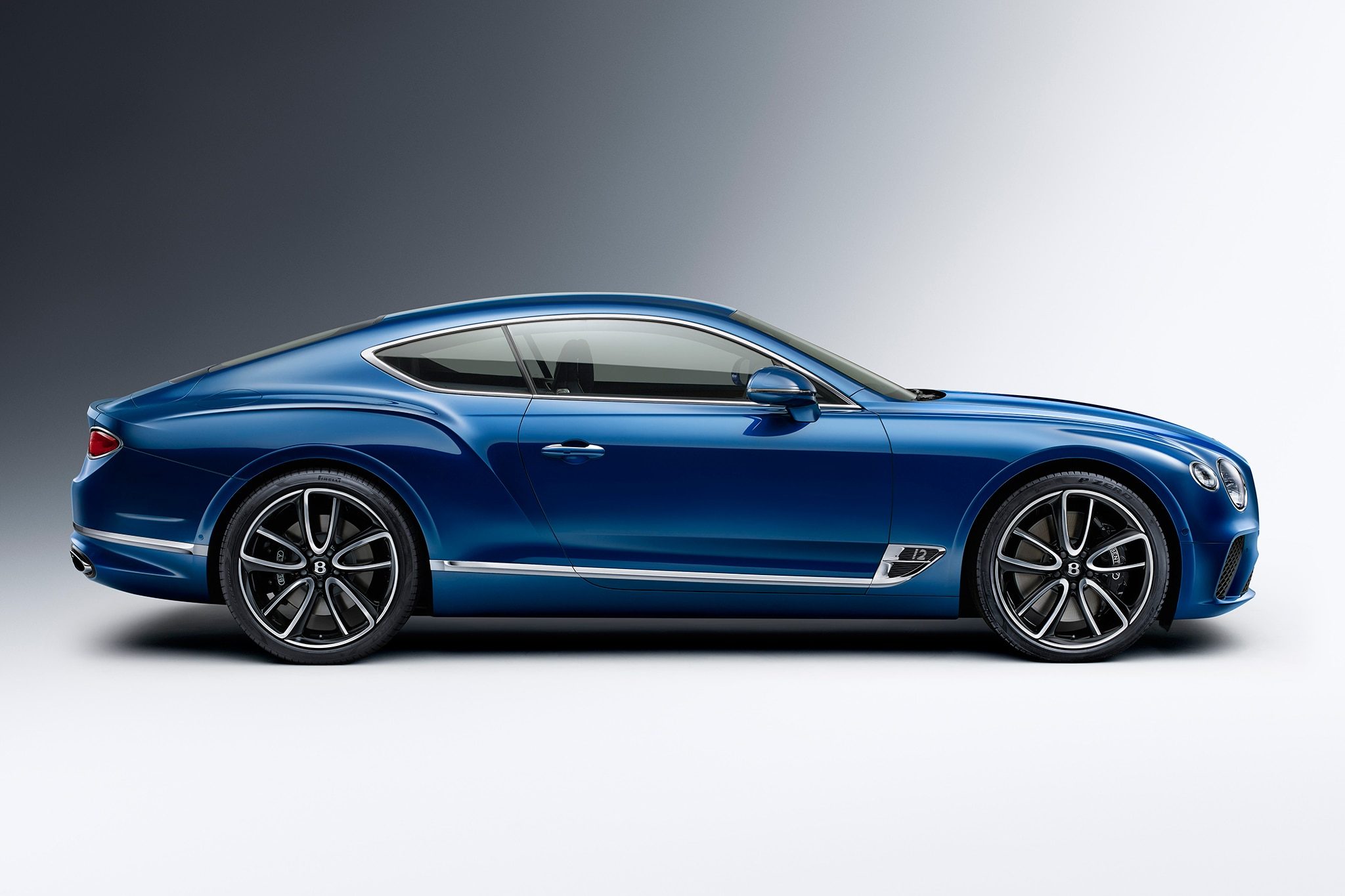 2019 Bentley Continental Gt Cruises Out Of Crewe