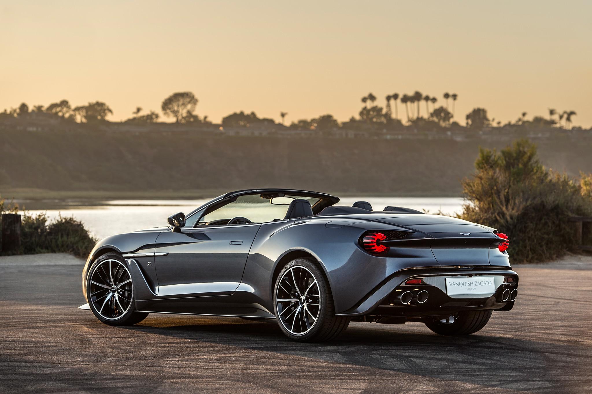 Aston Martin Debuts Vanquish Zagato Speedster, Teases